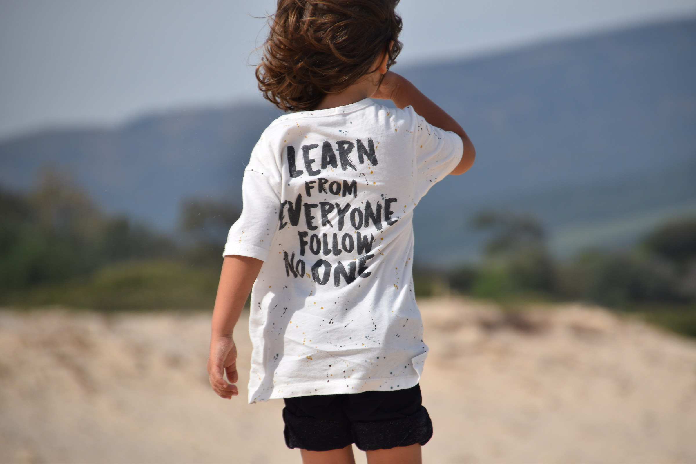 Learn from everyone follow no one....