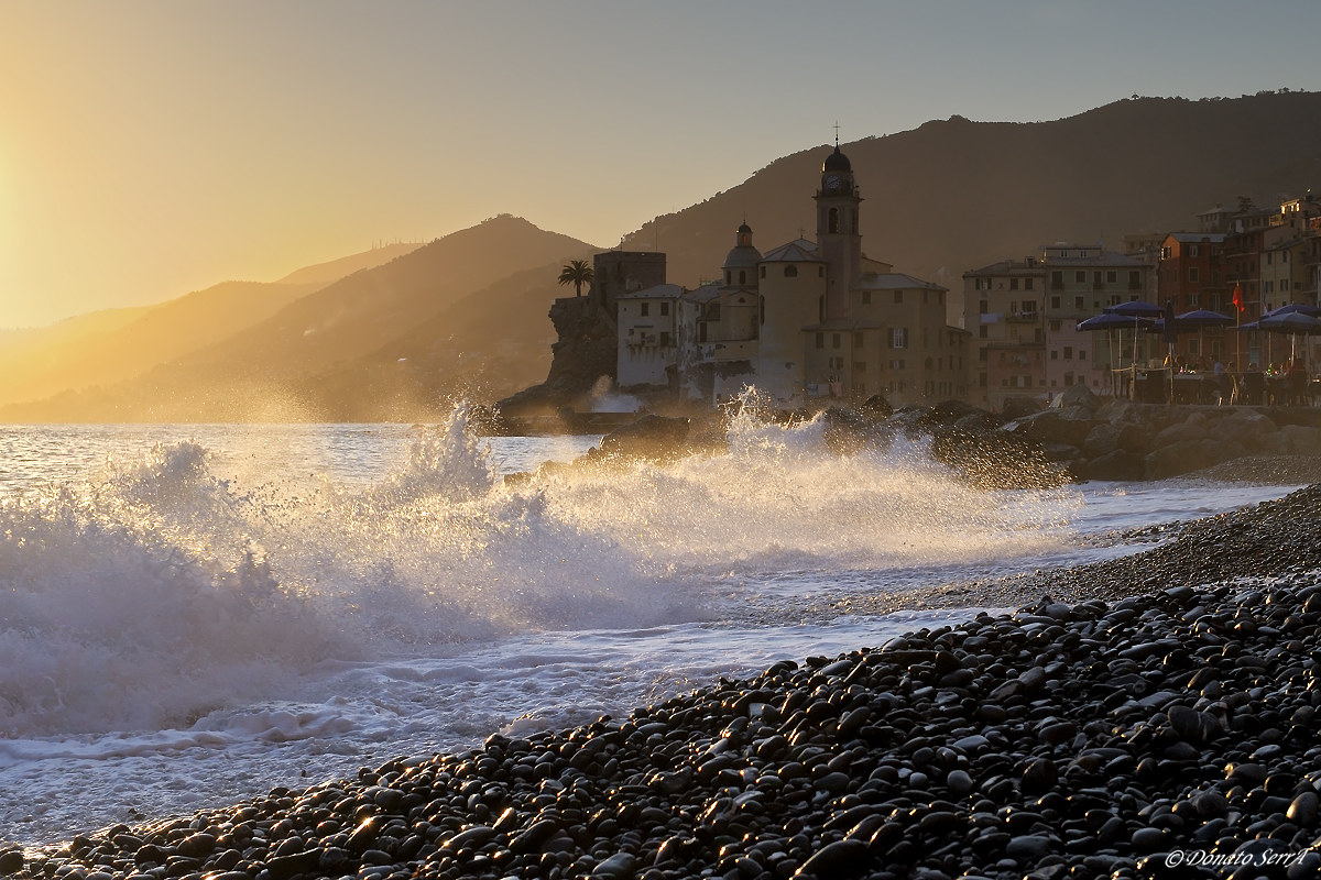 Camogli at Sunset...