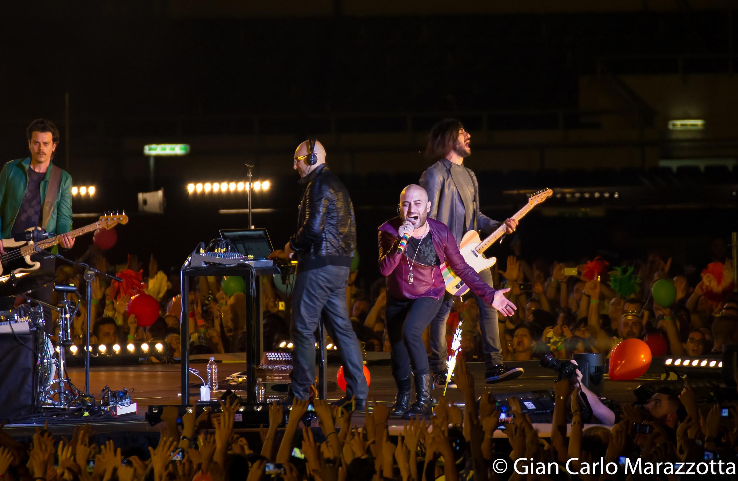 Negramaro Concert - Olympic Stadium 2013...