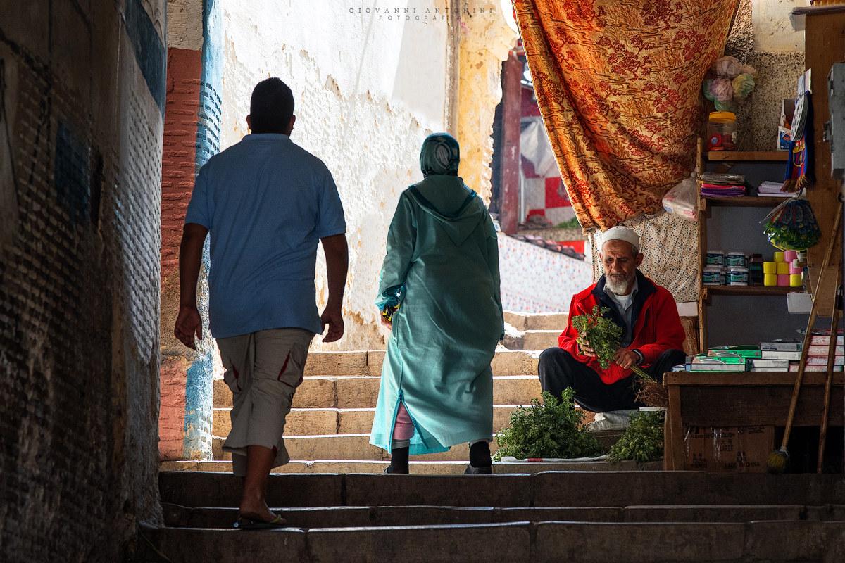 Souq di Fes. Marocco...