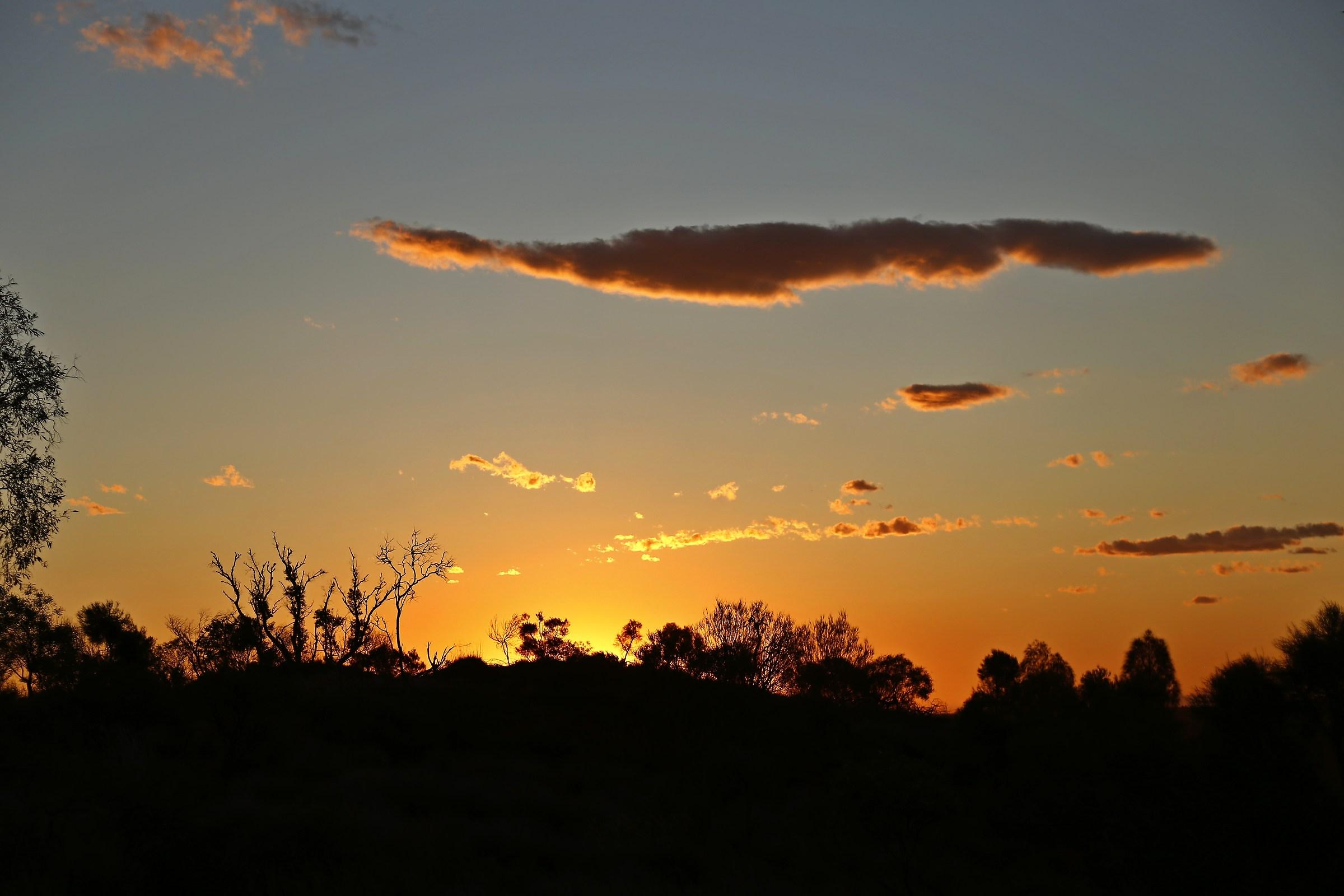 A dreamy sunset ......