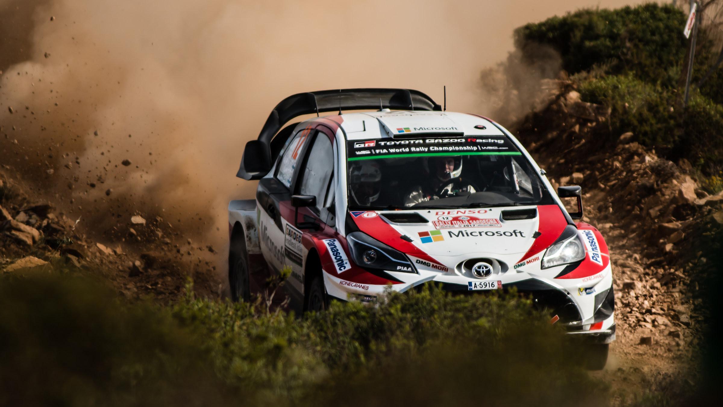 Esapekka Lappi Rally Italy Sardegna 2017...