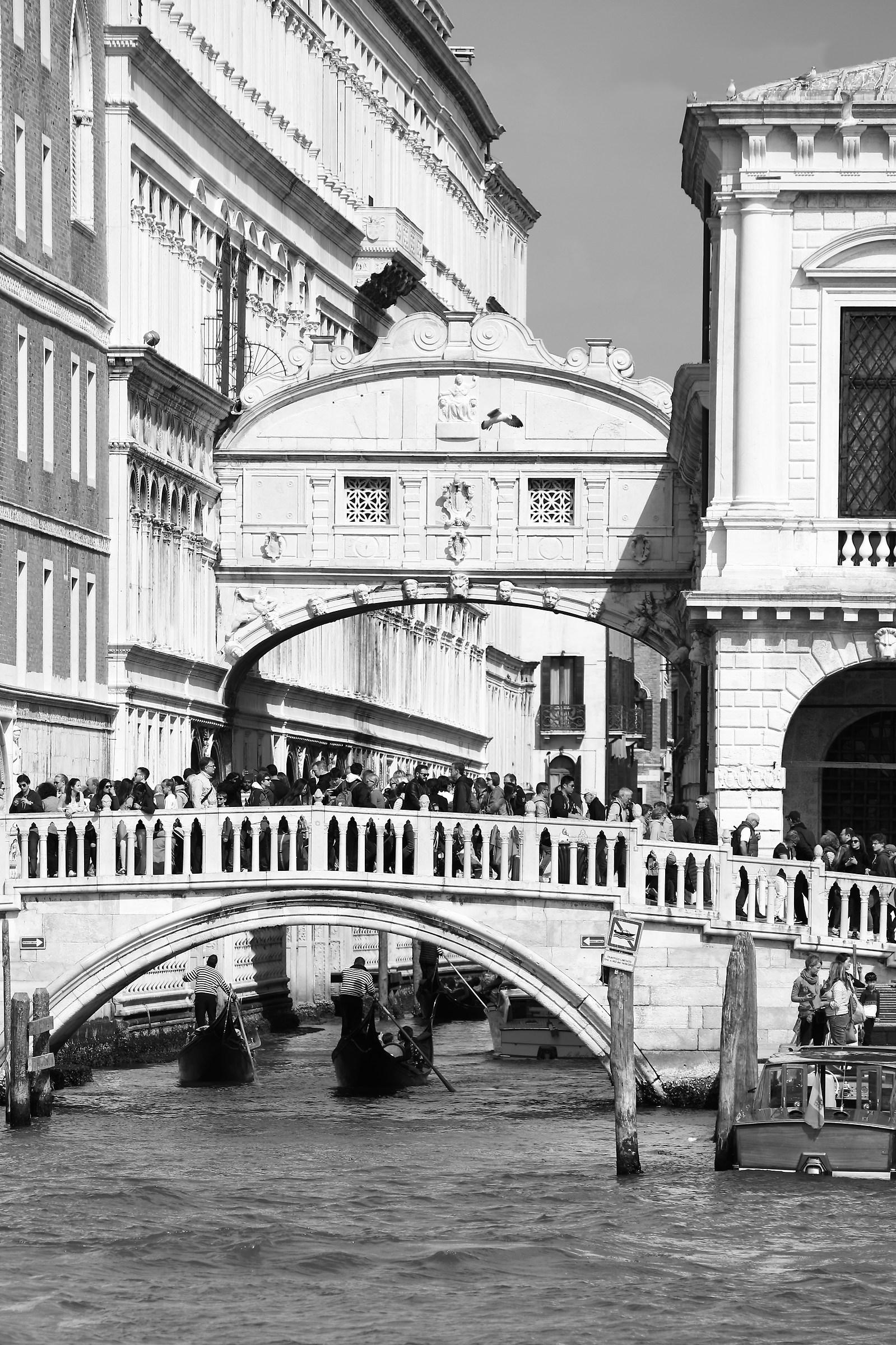 Venice - Bridge of Sighs...
