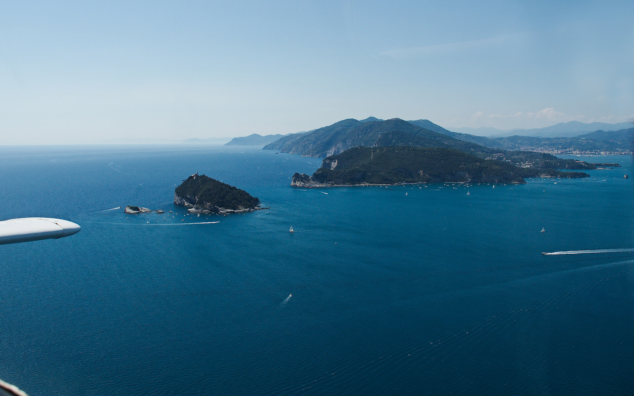 From Portofino to the Gulf of La Spezia in one click....