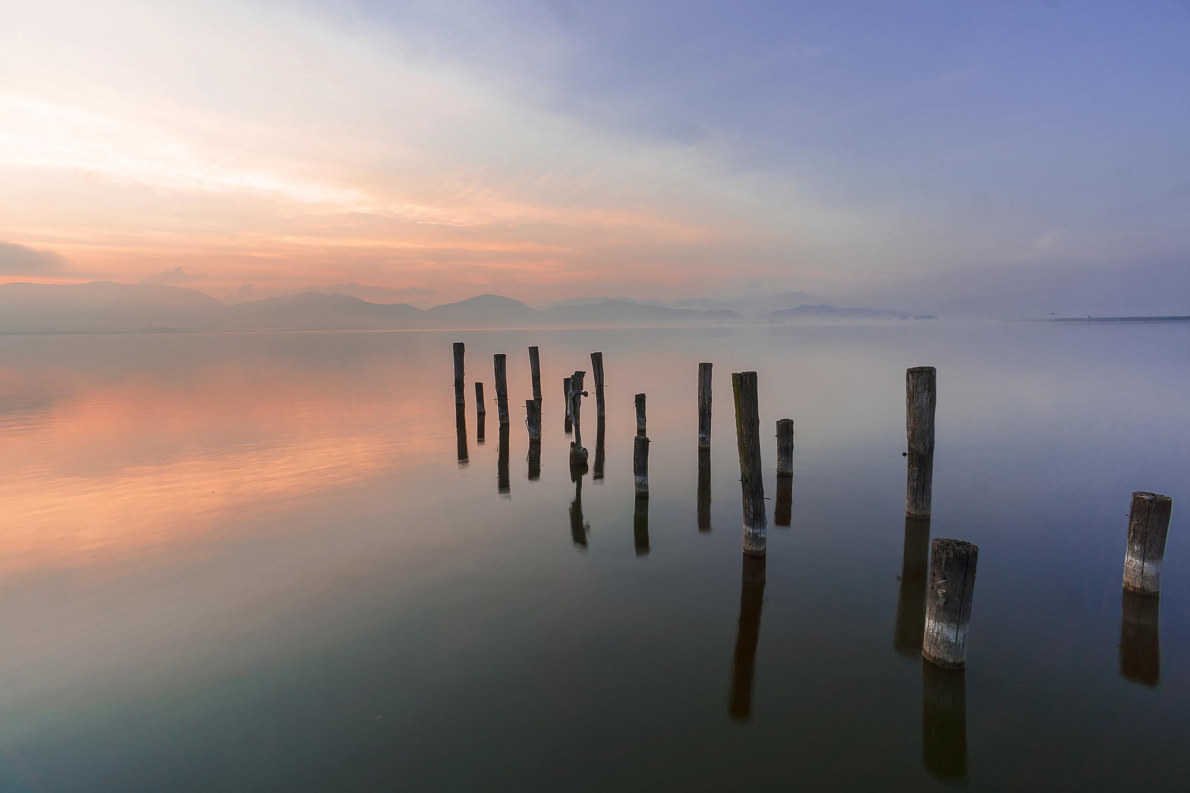 Sunrise at Massaciuccoli 3...