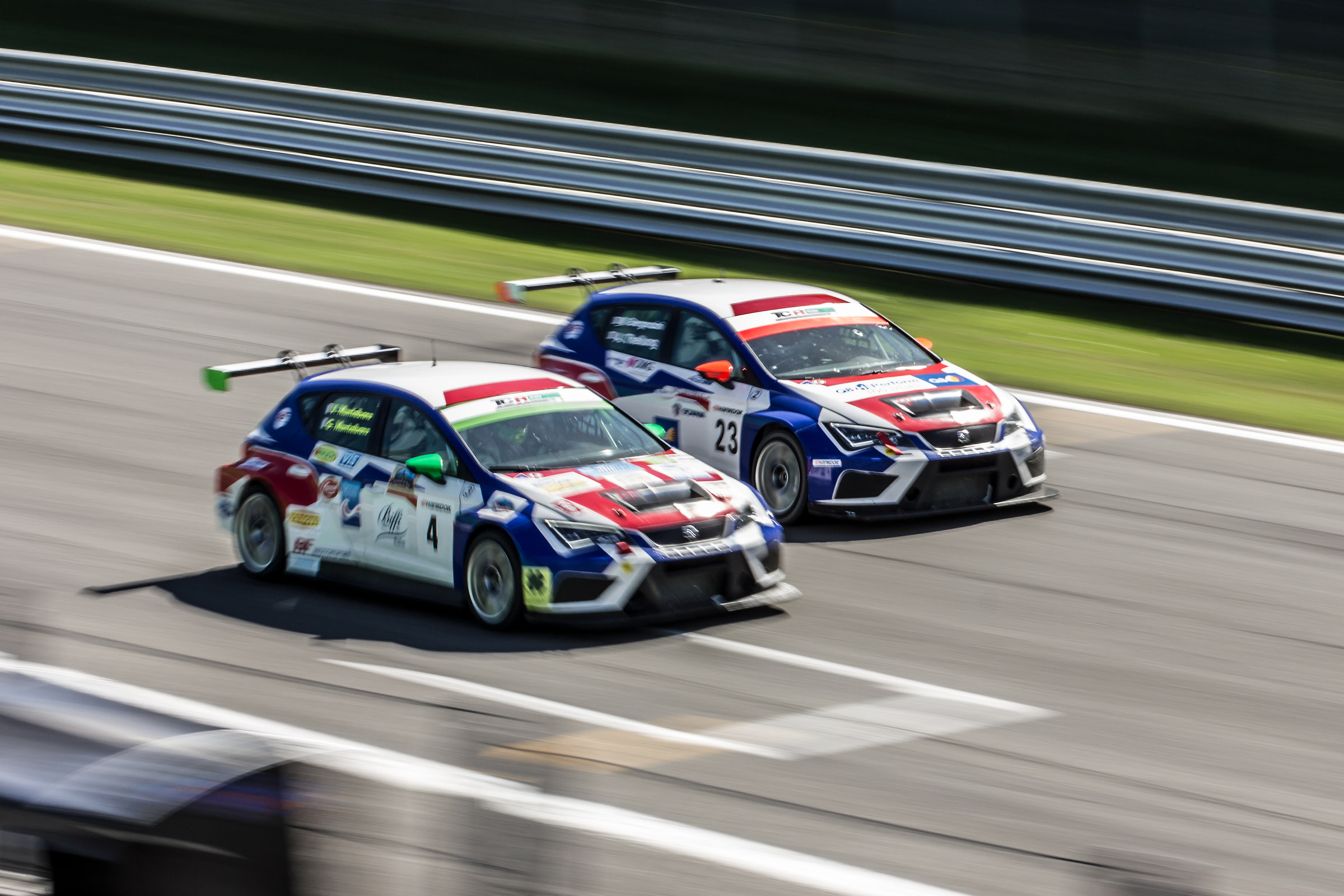 Overtaking the Monza Straight to TCR Italy...