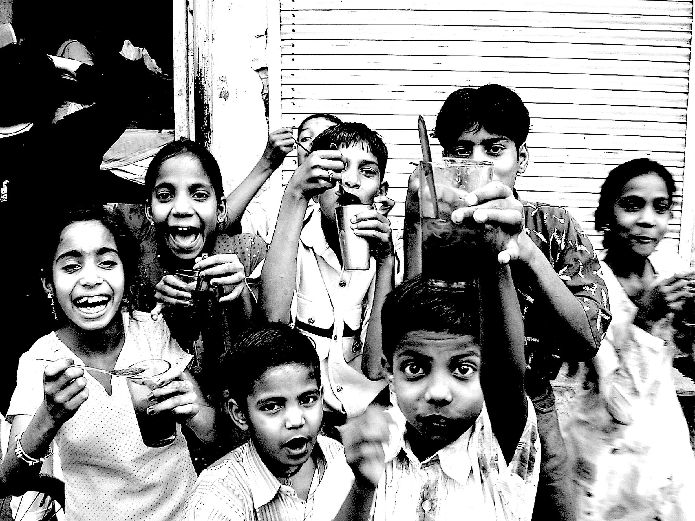 The simple joy of Indian children Rajastan...
