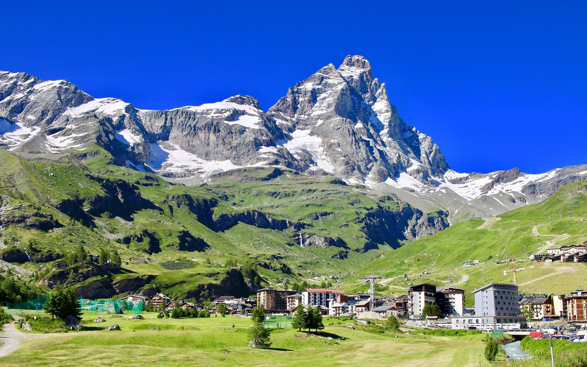 The Matterhorn from Cervinia....
