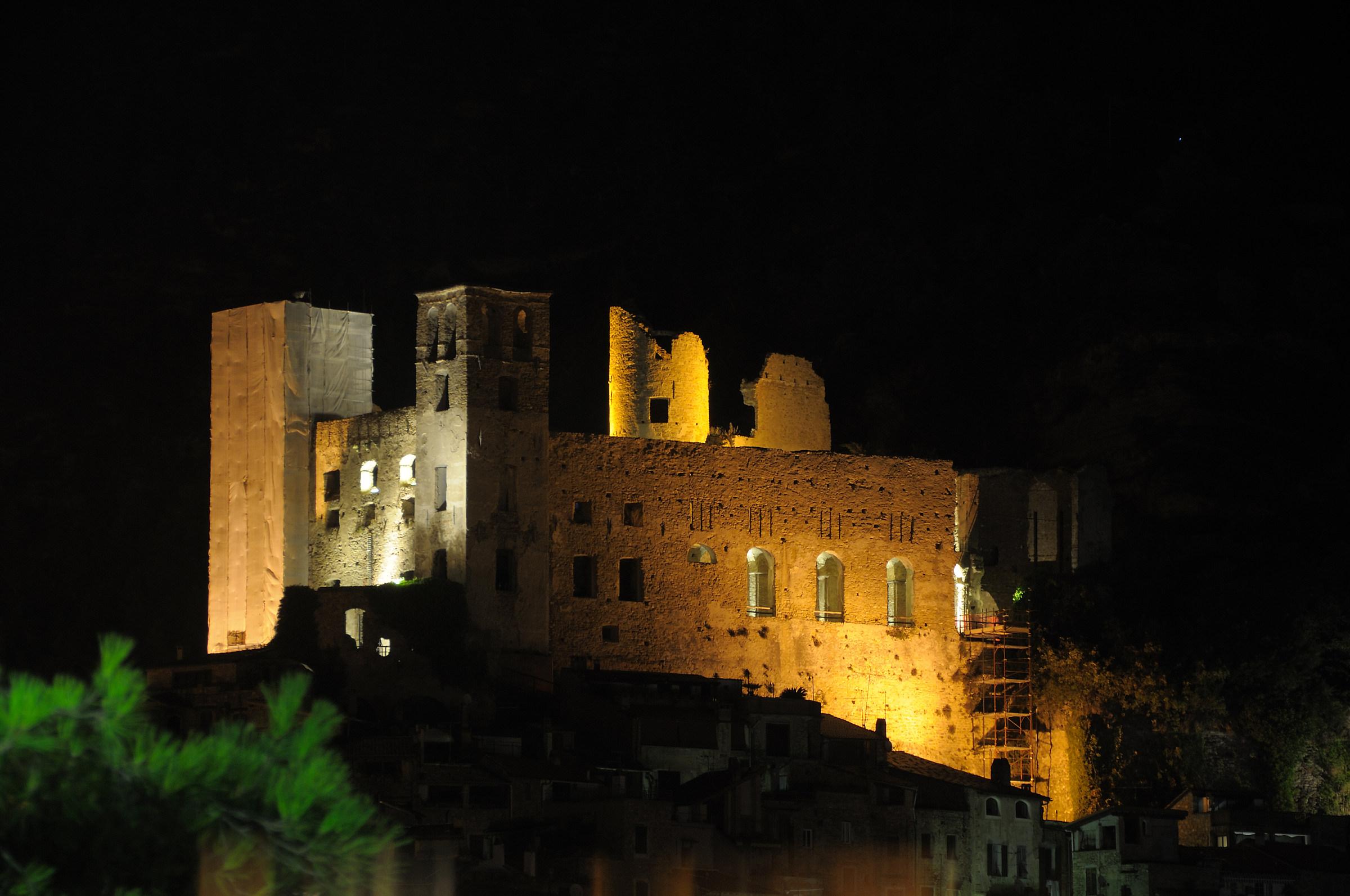 Il castello di Dolceacqua...