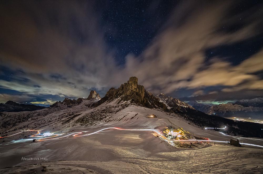Night at the Giau Pass...