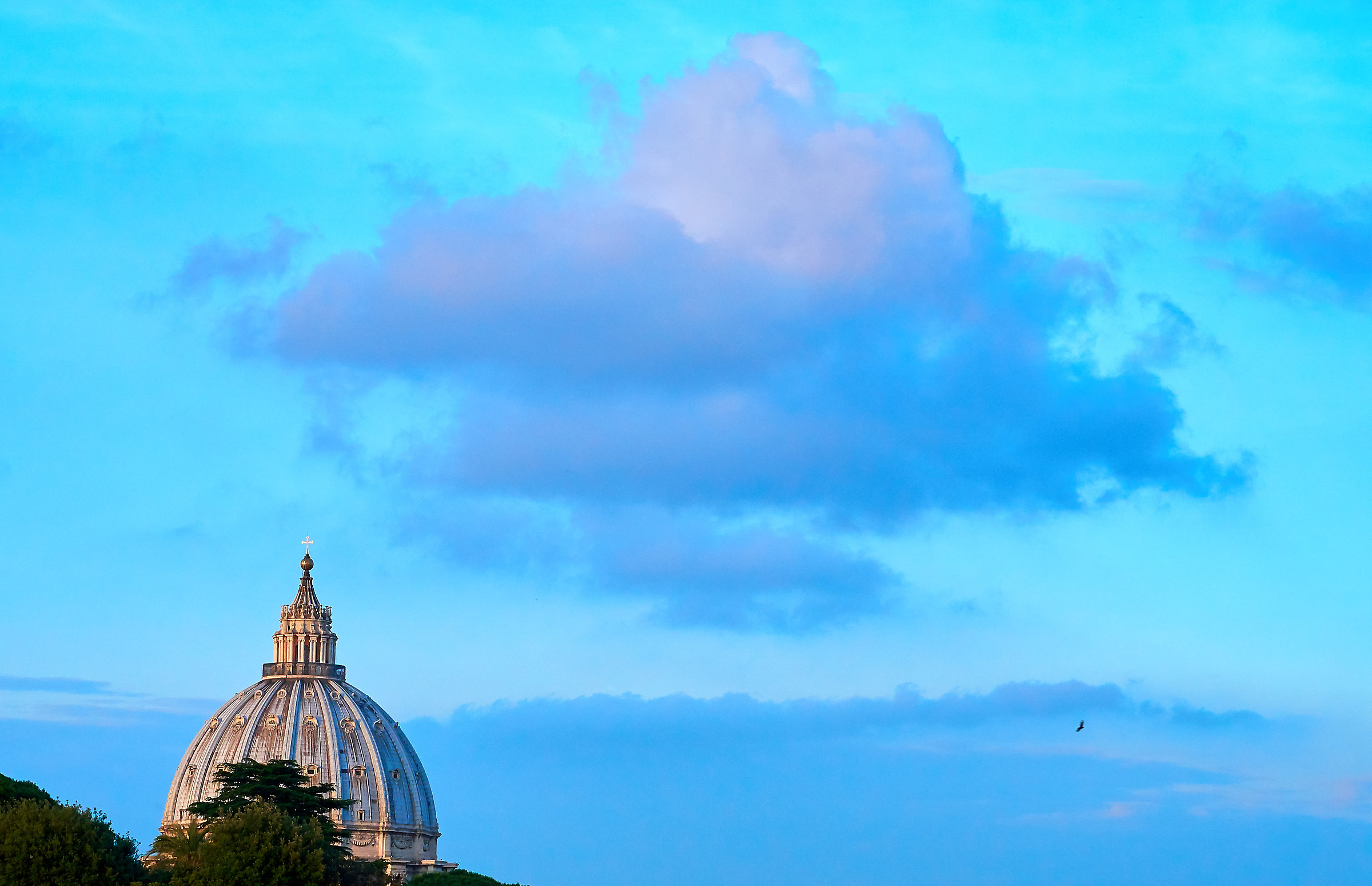 Sunset in Rome 2016...
