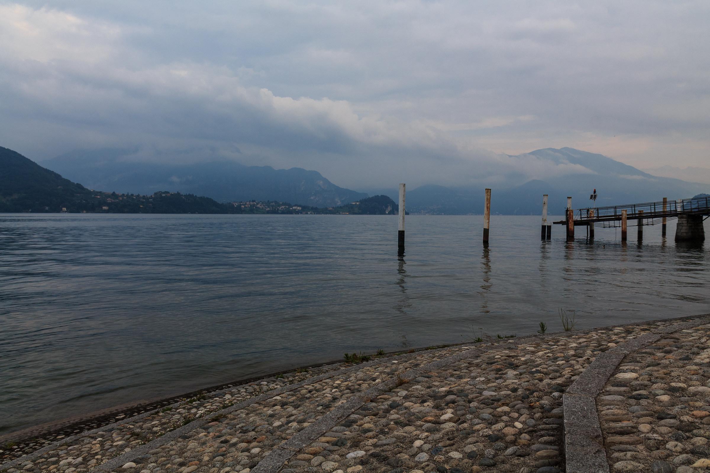 Clouds on Lake in Lierna...