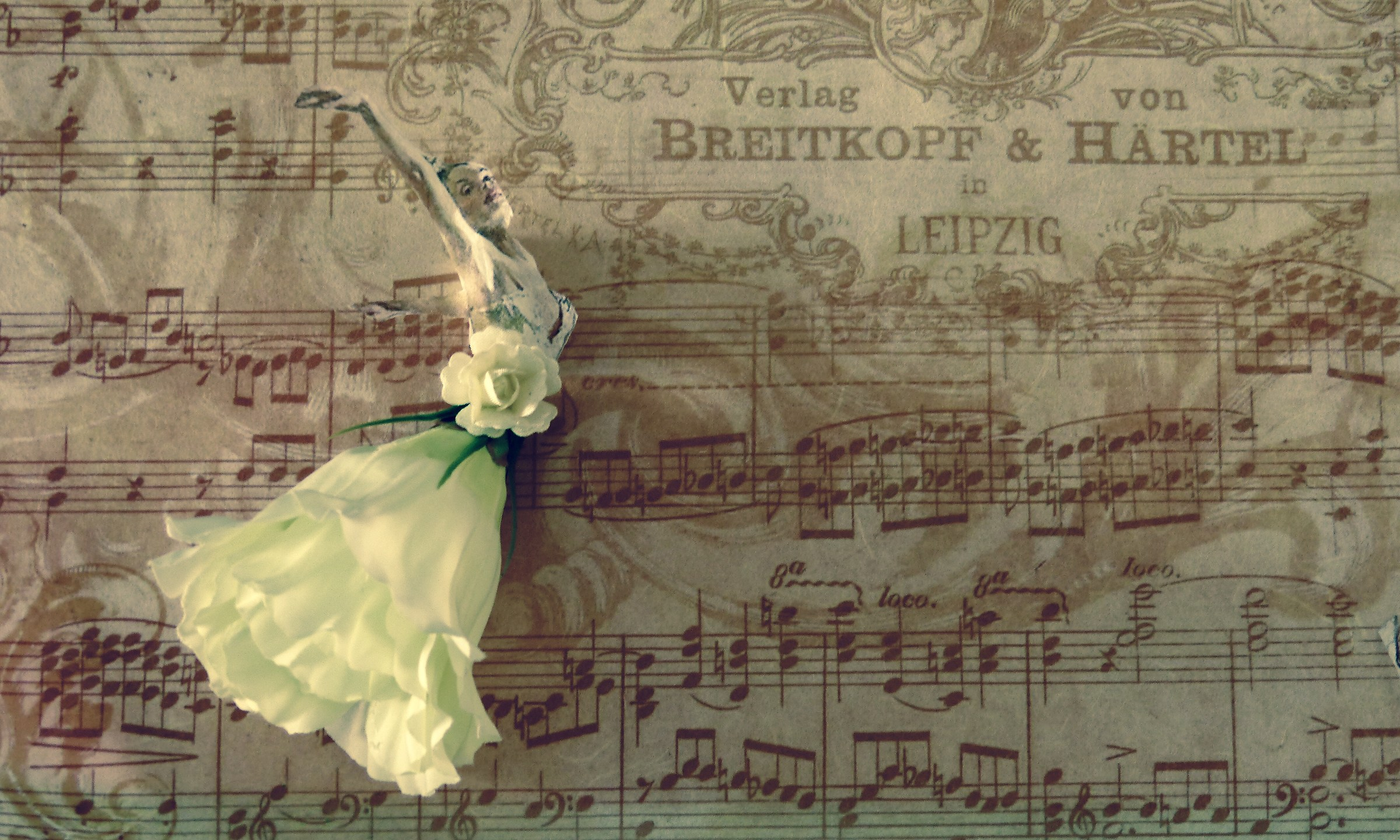 Dancing on notes...