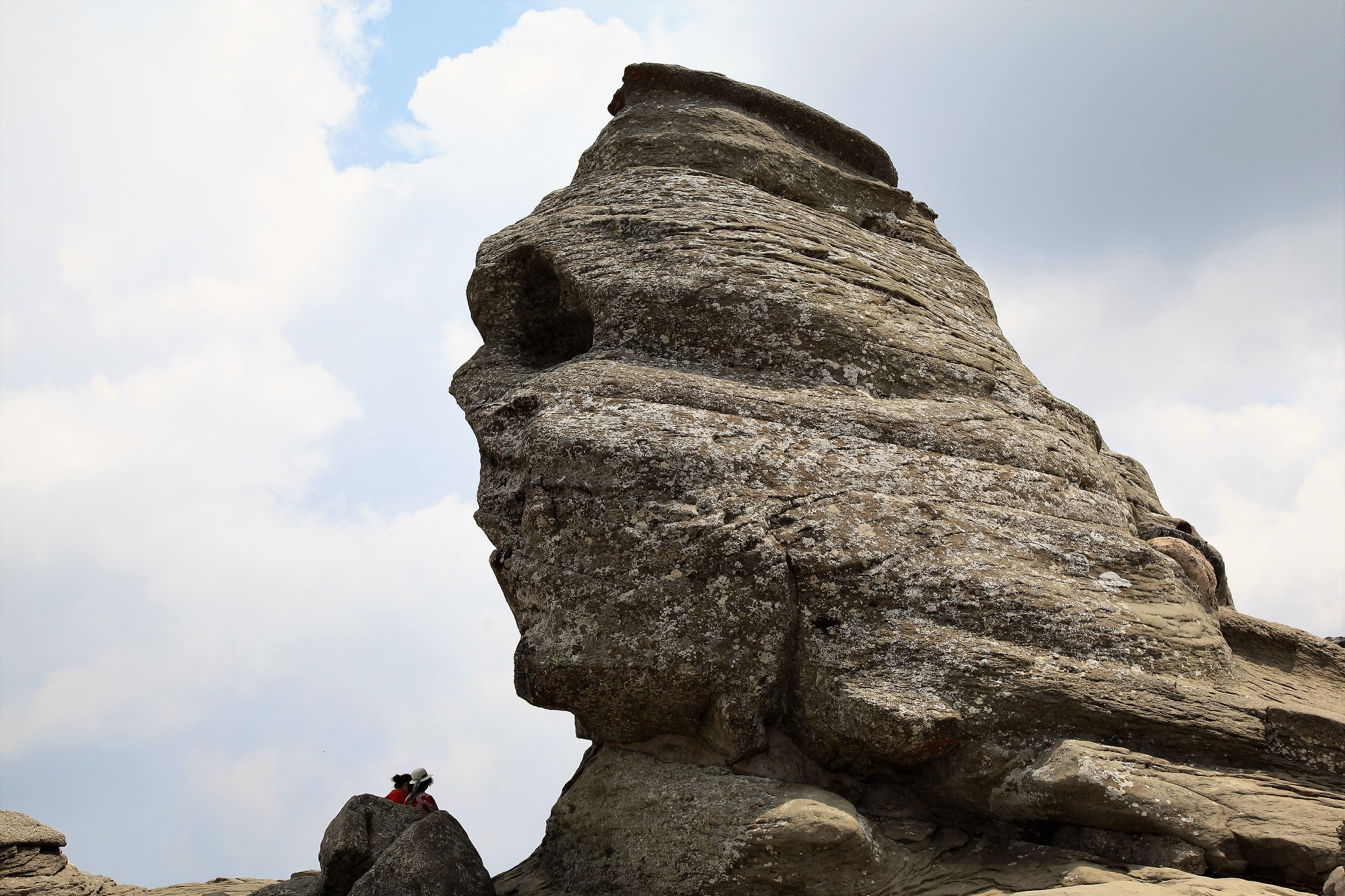 The Sphinx of the Bucegi Mountains Romania...