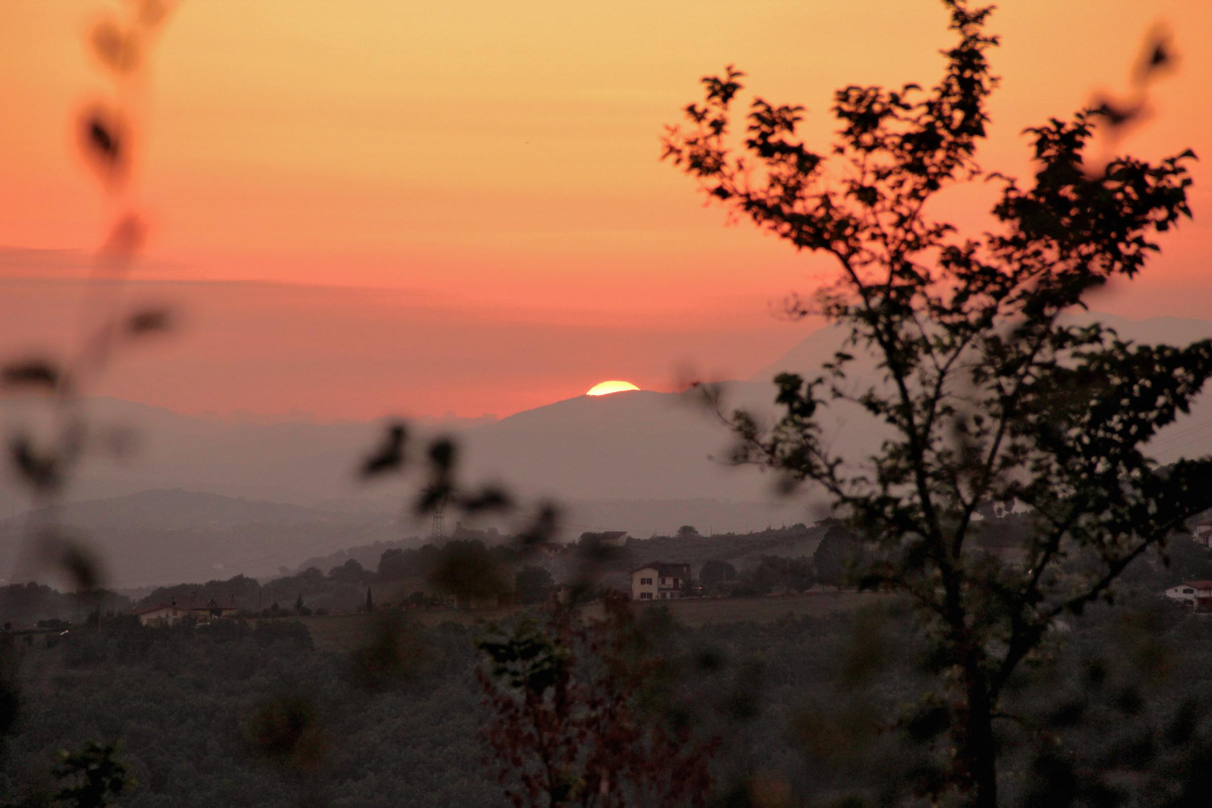 Sunset in Irpinia...