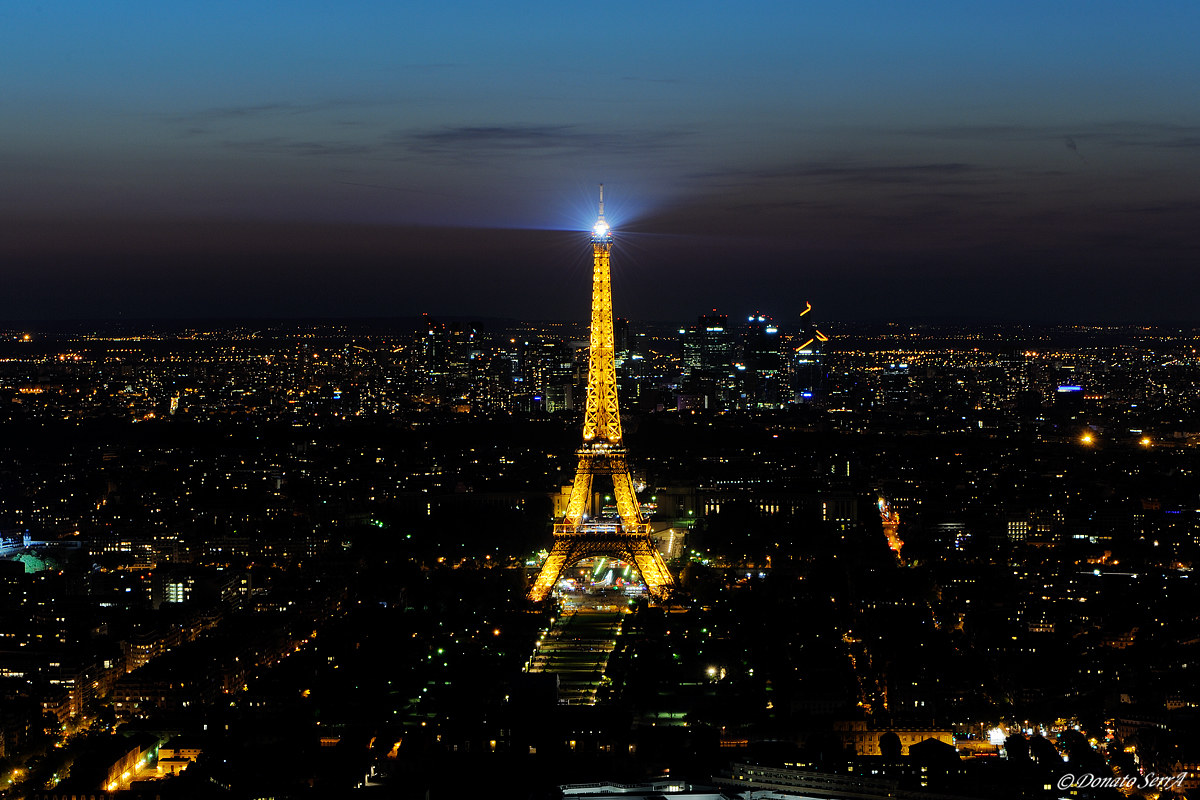 Eiffel Tower from the Montparnasse Tour...