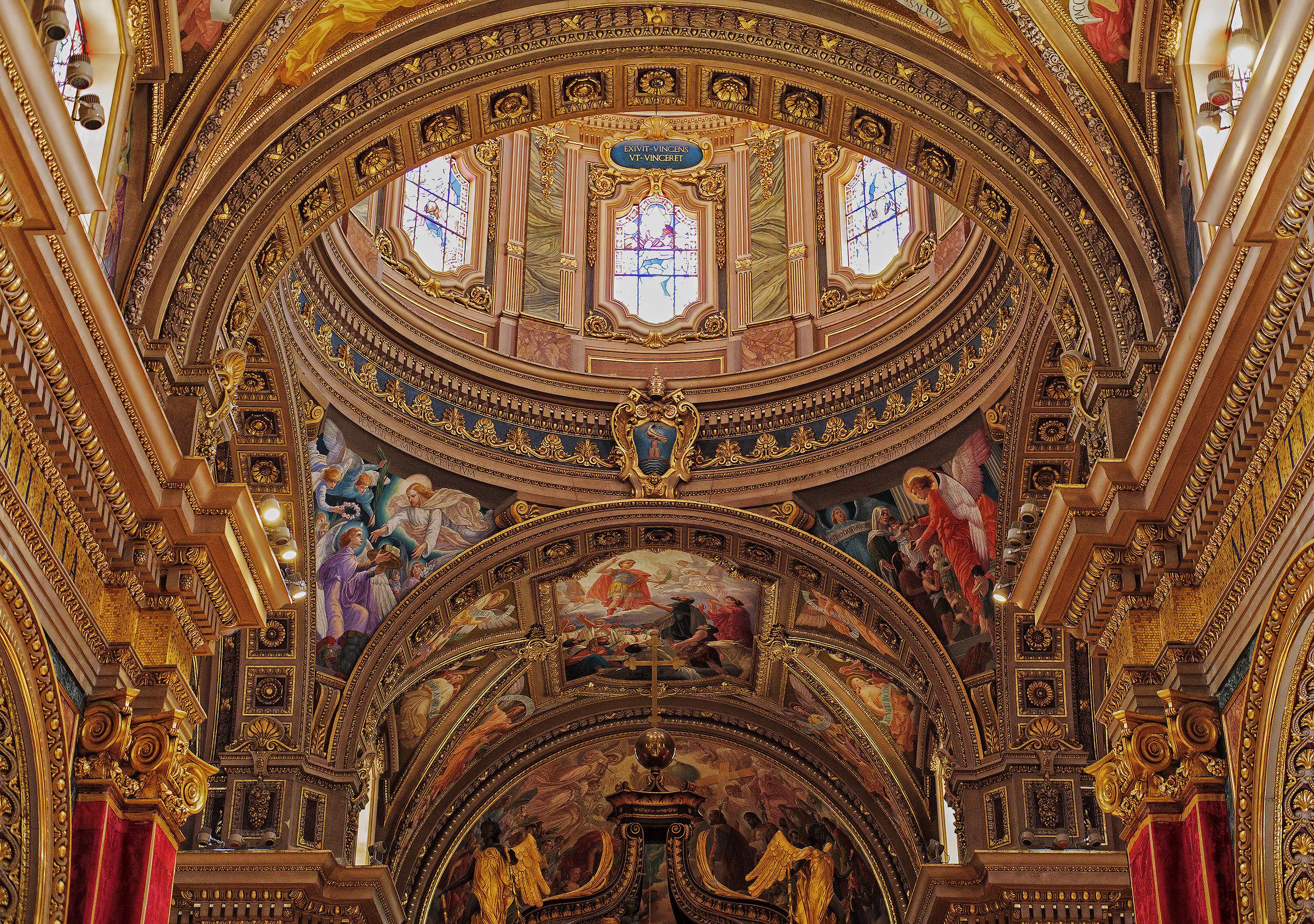Church of San Giorgio Island of Gozo (Malta)...