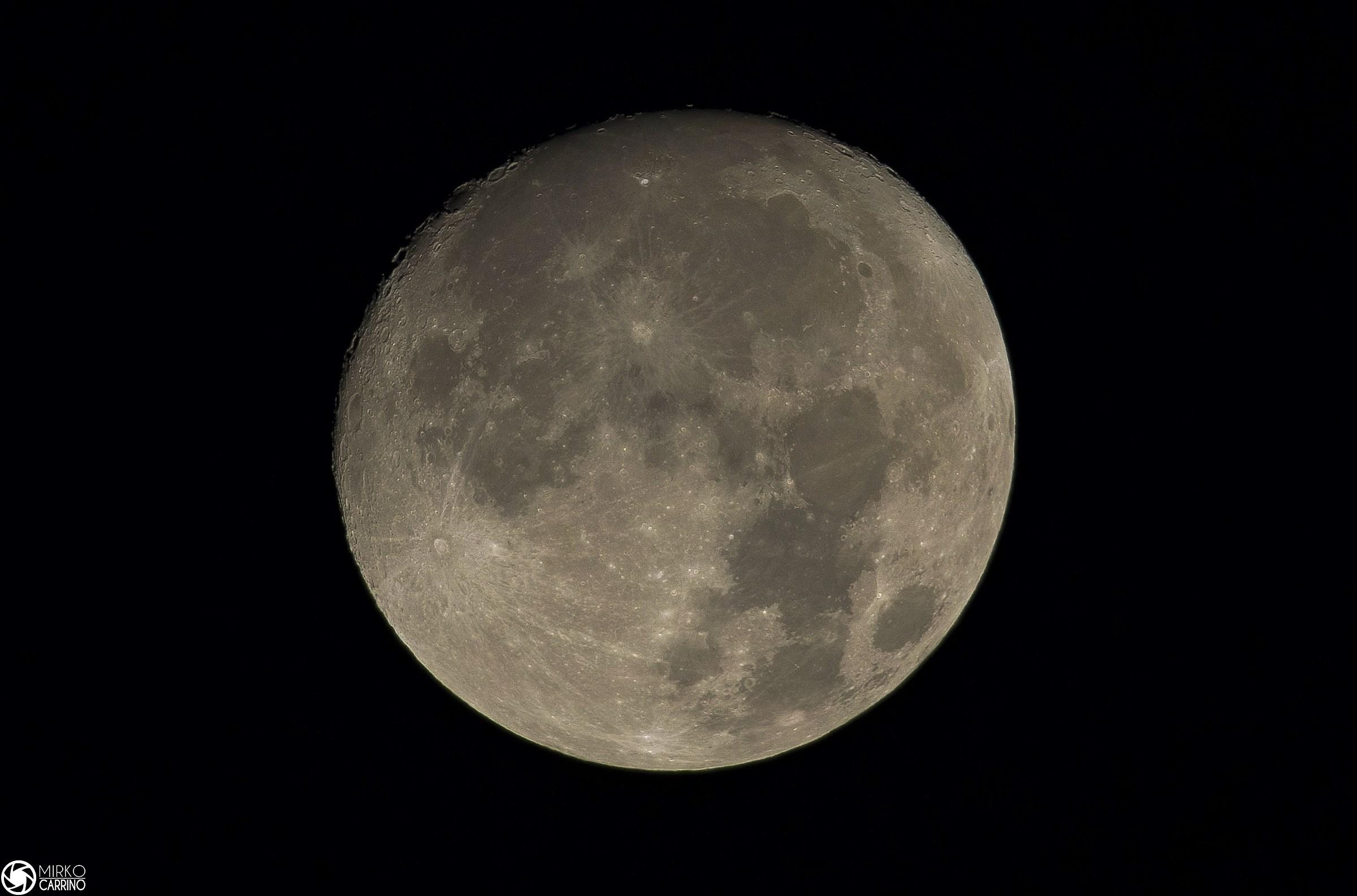 The moon.......