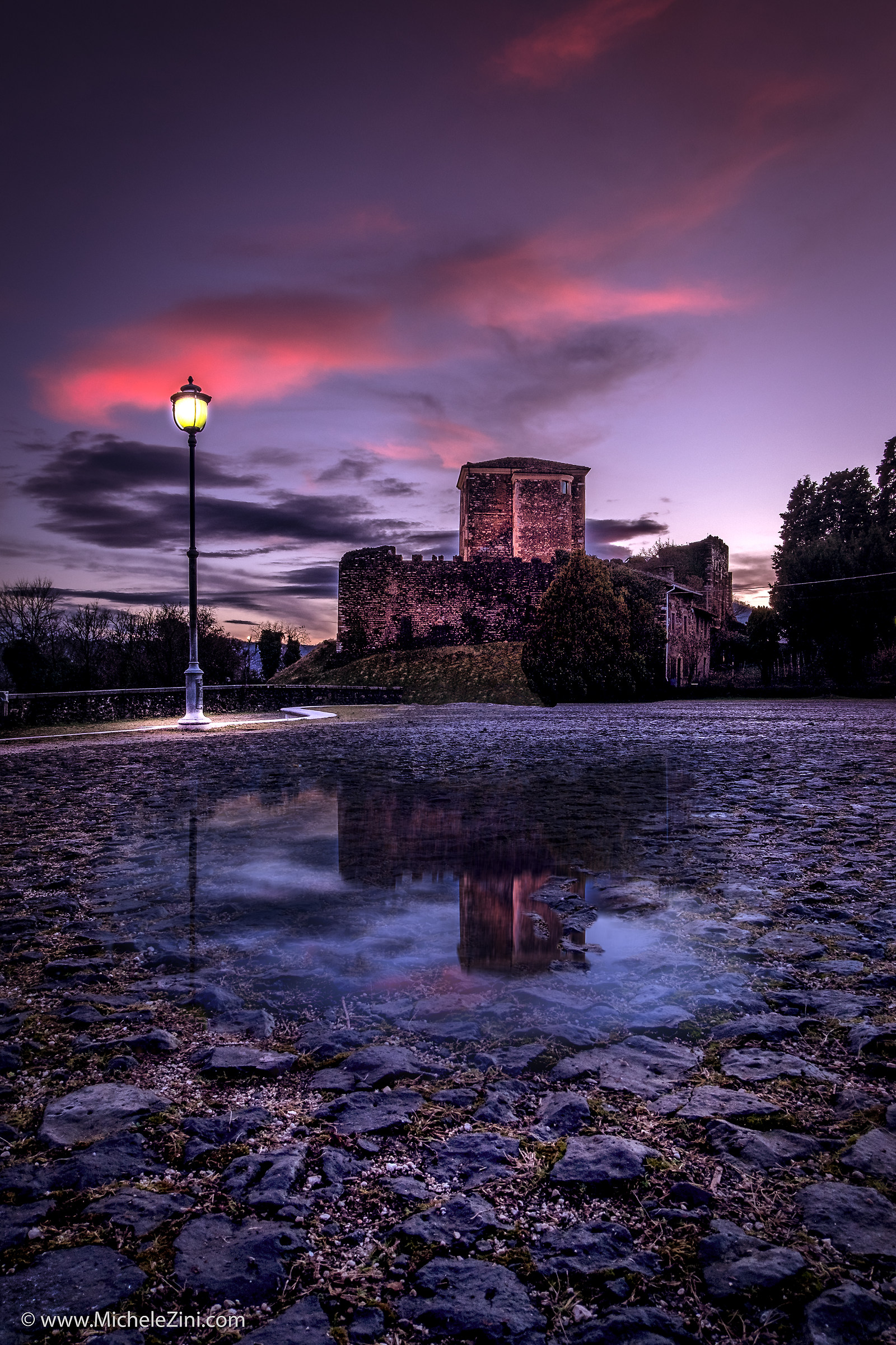 Castle in the purple ......
