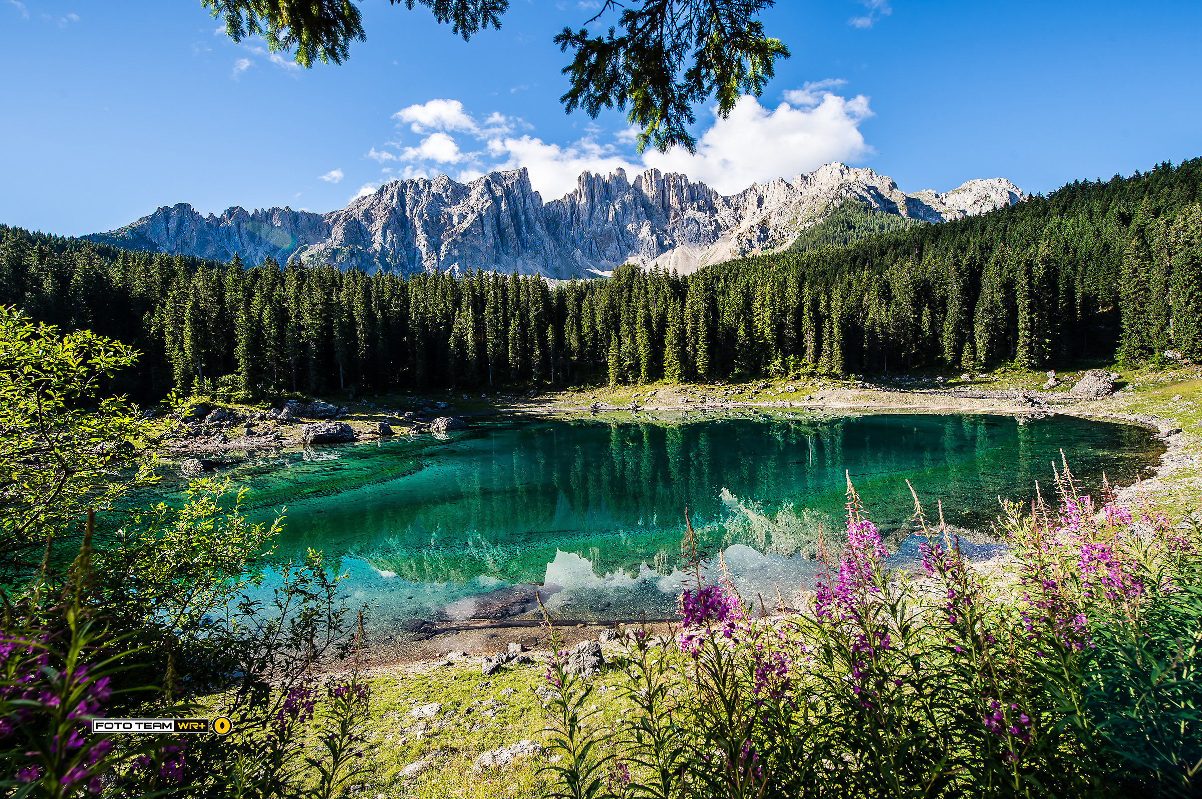 Lake Carezza...