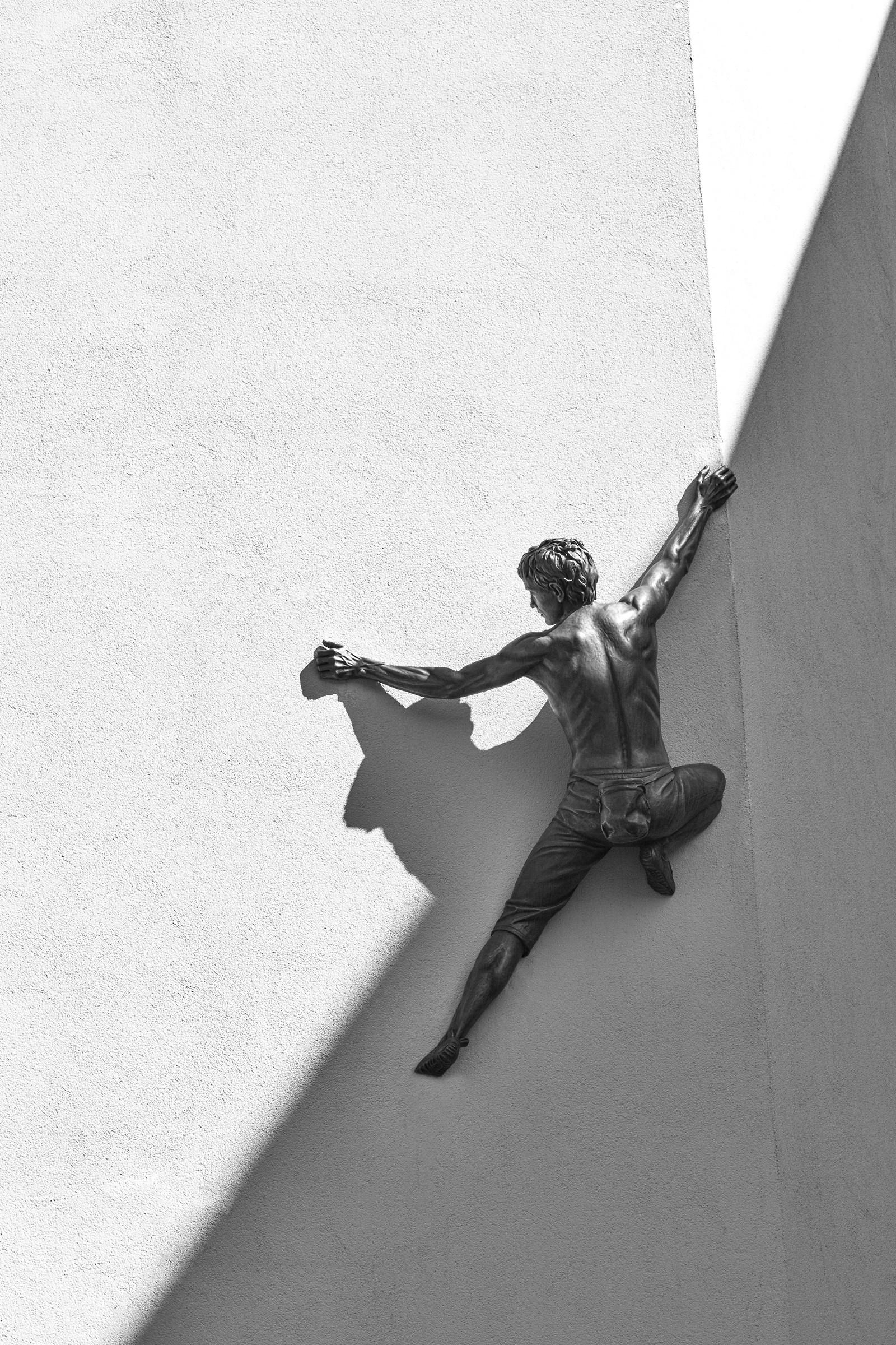 The climber of Ortisei...