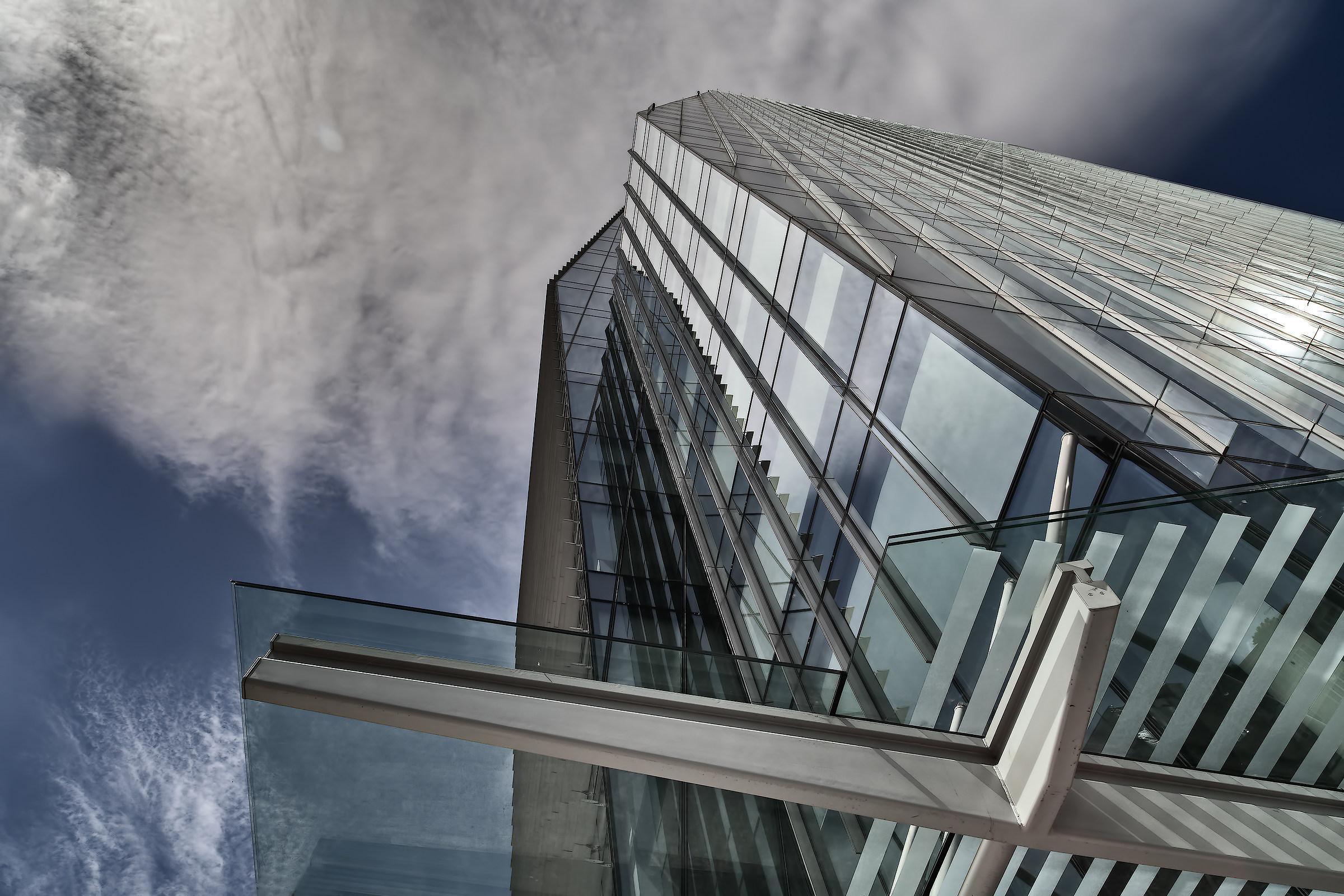 Headquarters BNP Paribas New Town Milan...