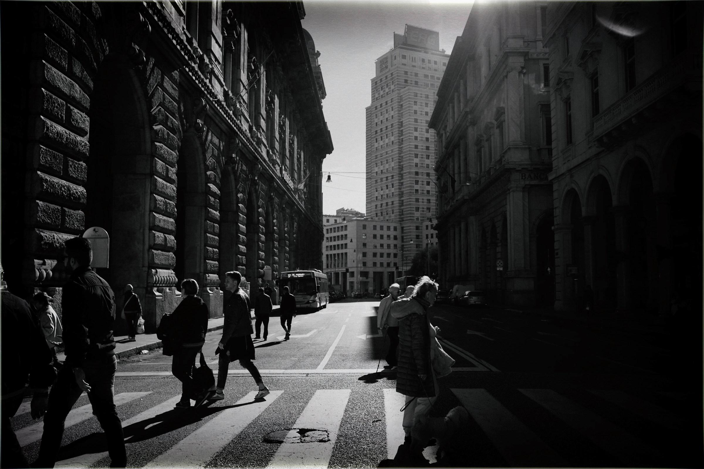 Street walking...