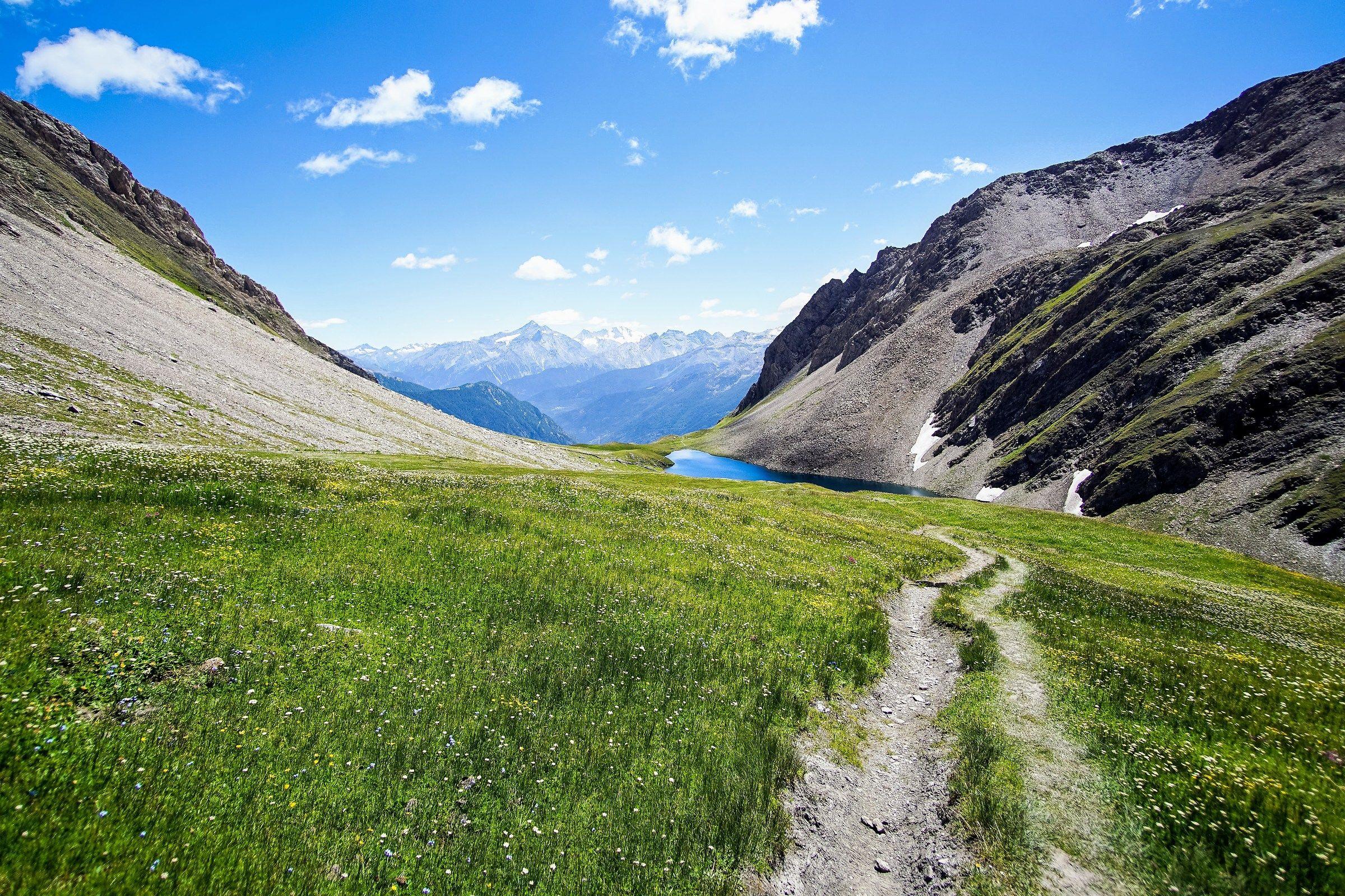 Lake Liconi, Valle d'Aosta...