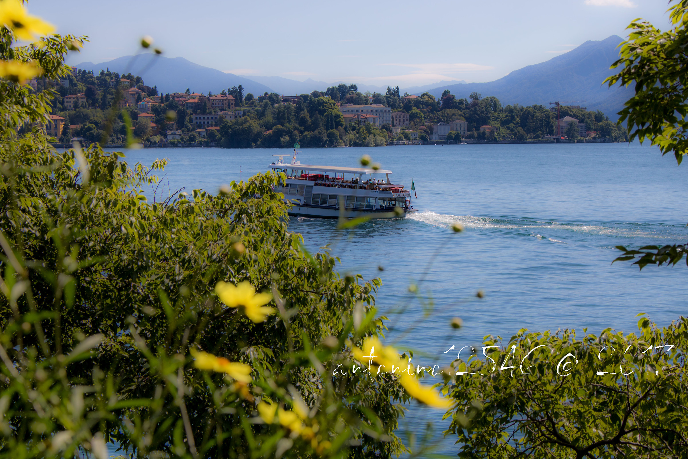 Holidays on Lake Maggiore...