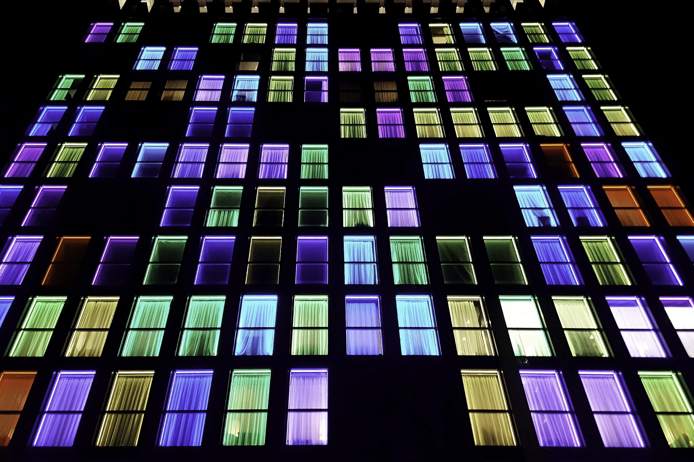 Color night...