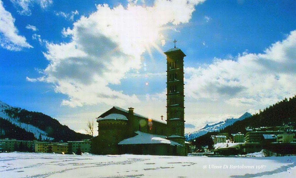 Snow Halo on the Church...