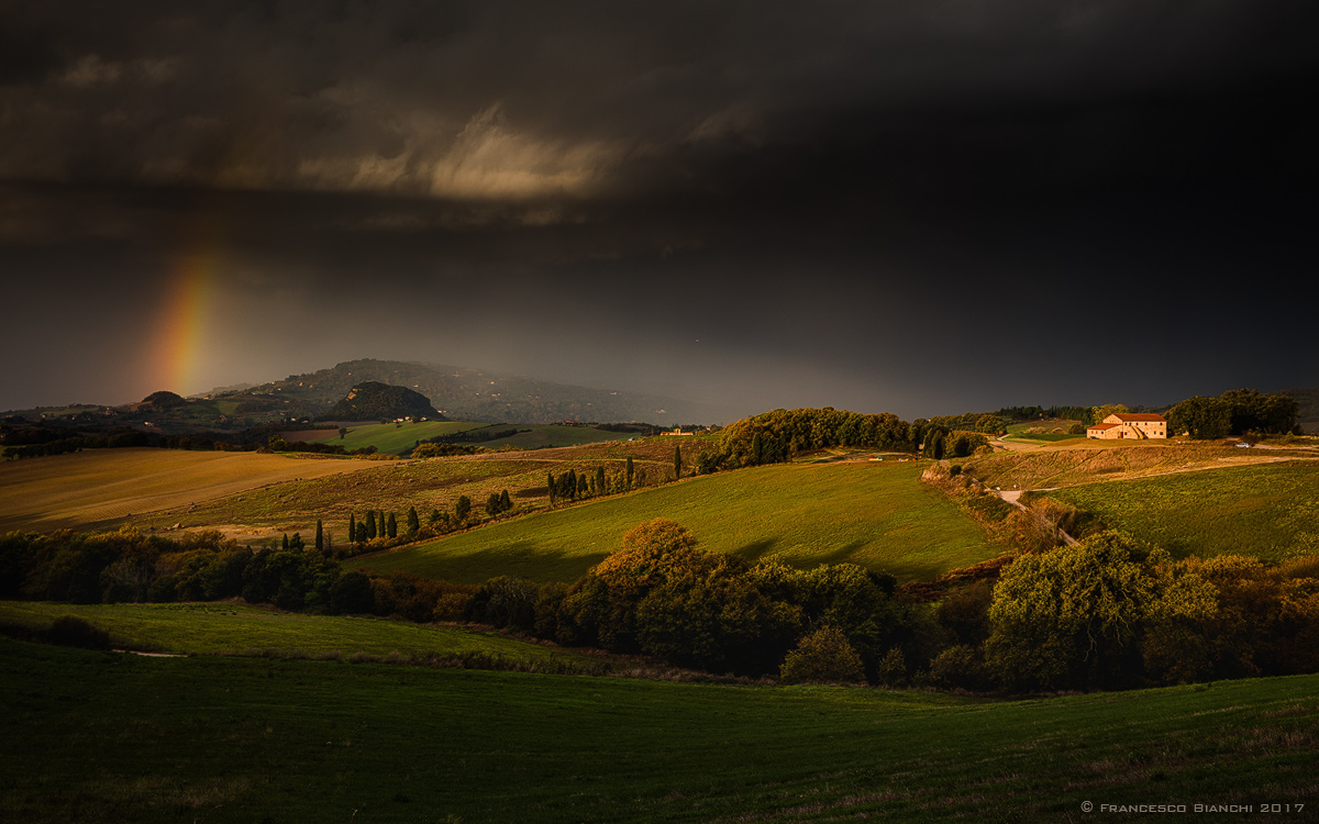 Light after the storm...