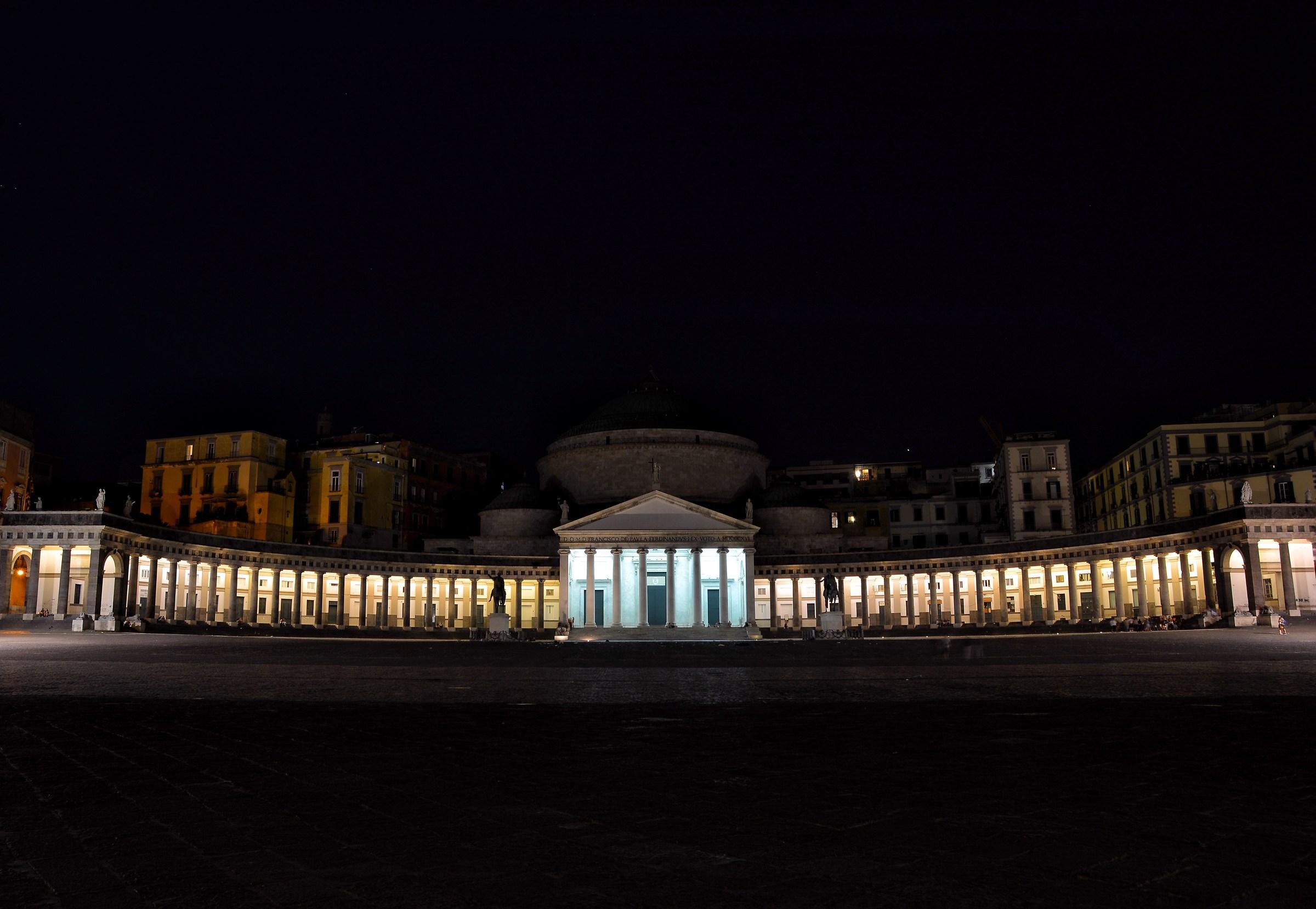 Piazza Plebiscito...