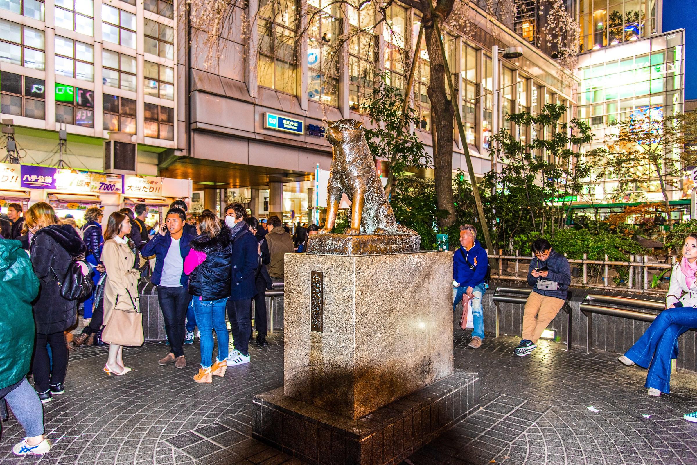 Tokyo - Shibuya Hachiko...