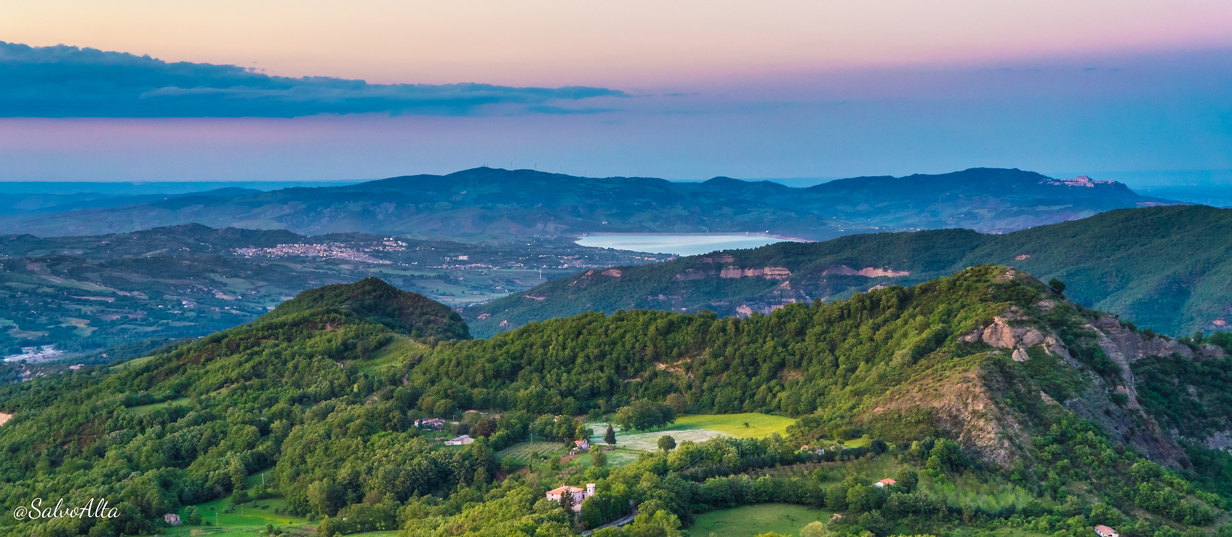 View from Monte Caramola...