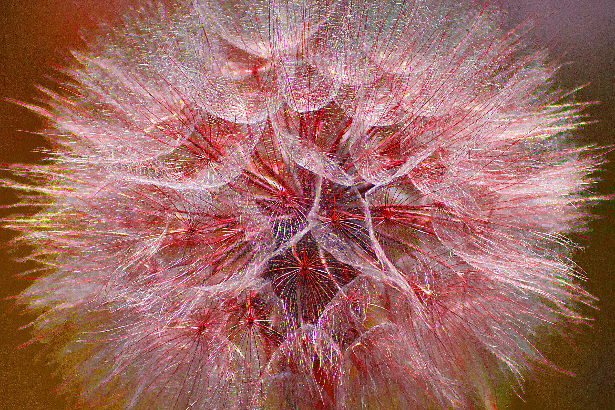 Artificial fireworks of nature...