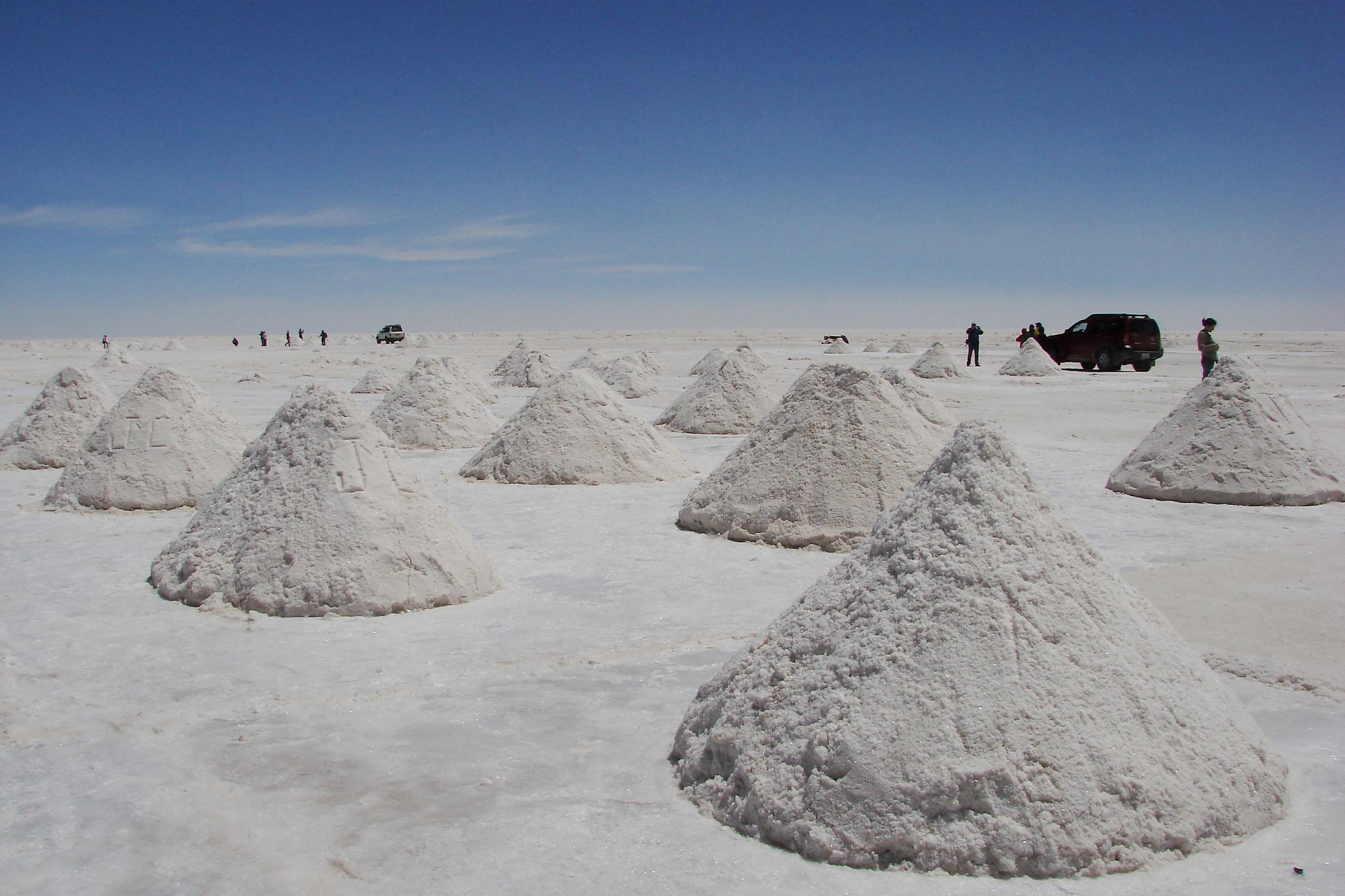 Bolivia. Salar de Uyuni...