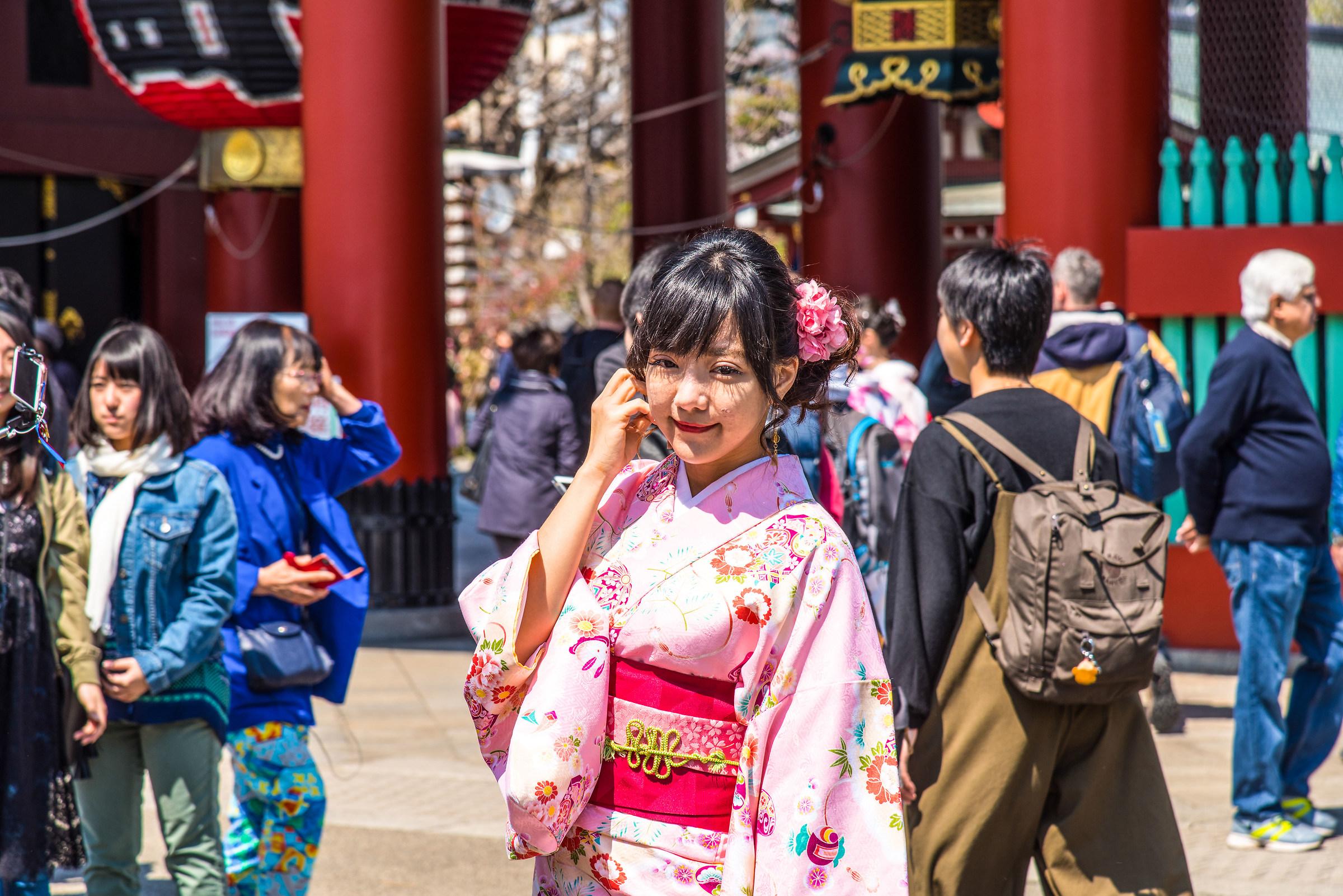 Japan 2017-Tokyo, Asakusa, Senso-JI Temple...