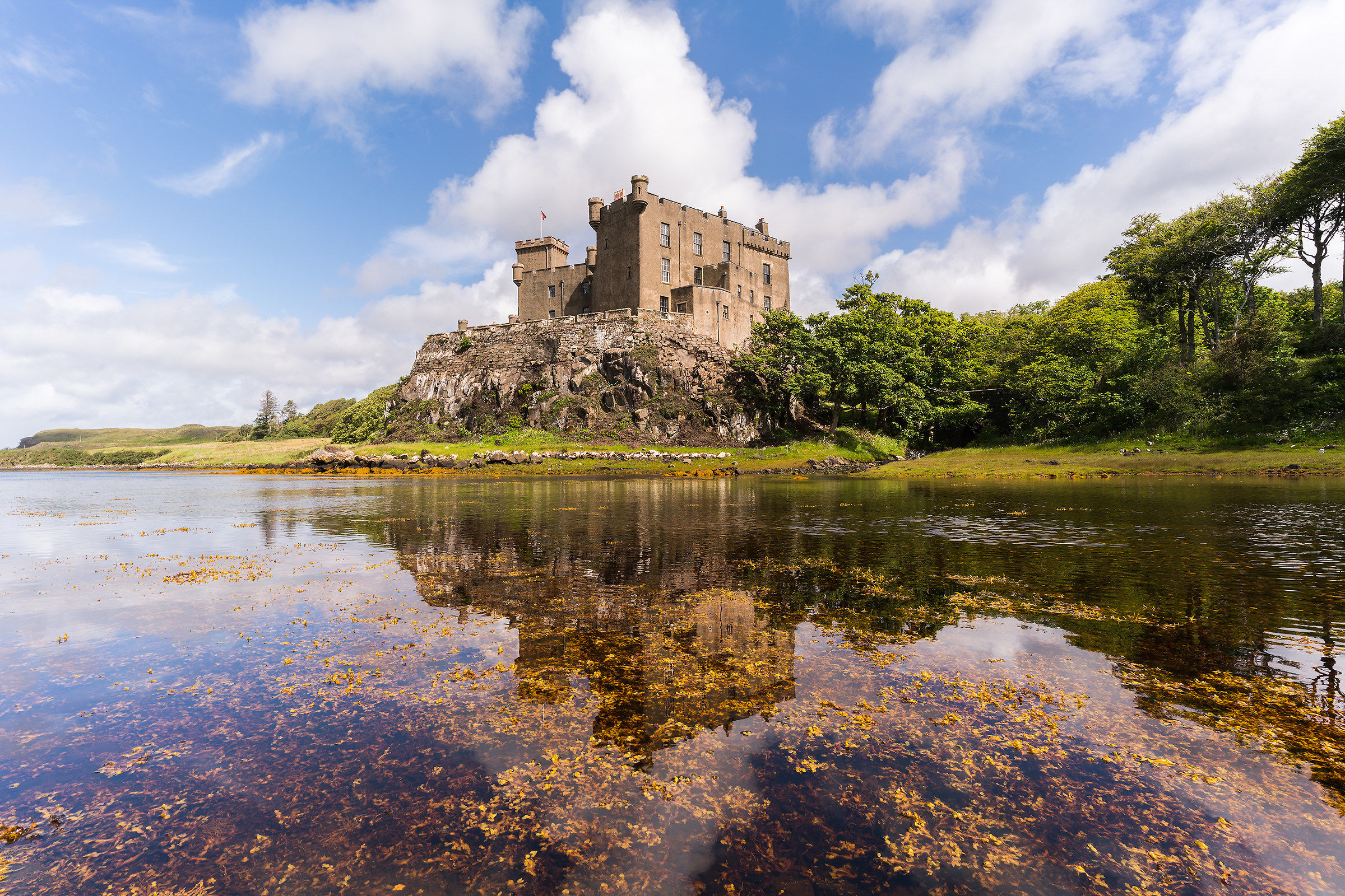 Dunvegan Castle...