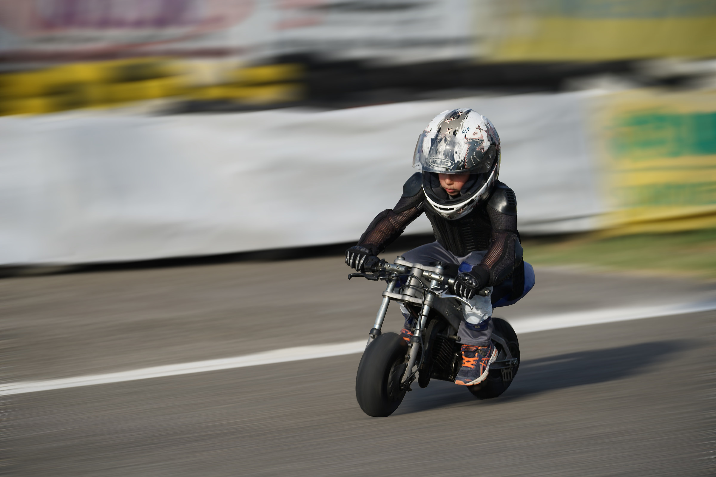 first time minimoto...