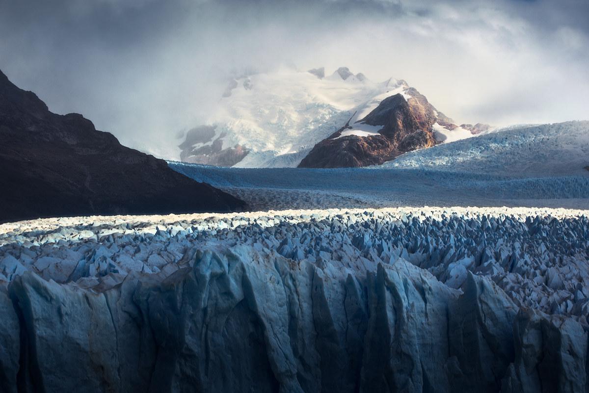 Misty Glacier...