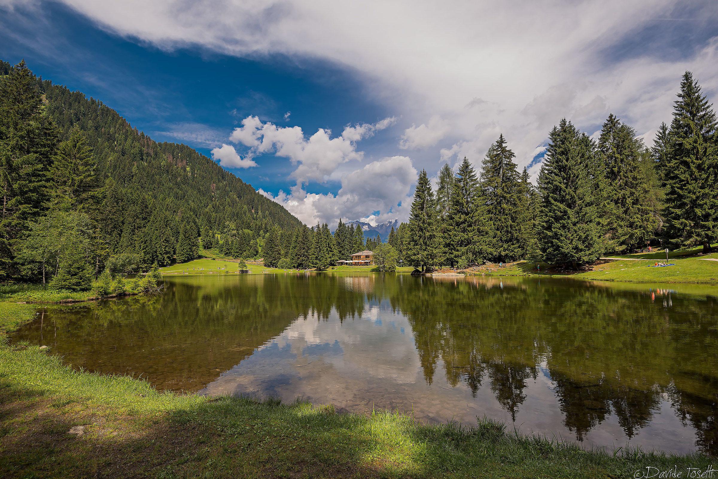Lake of the Caprioli...