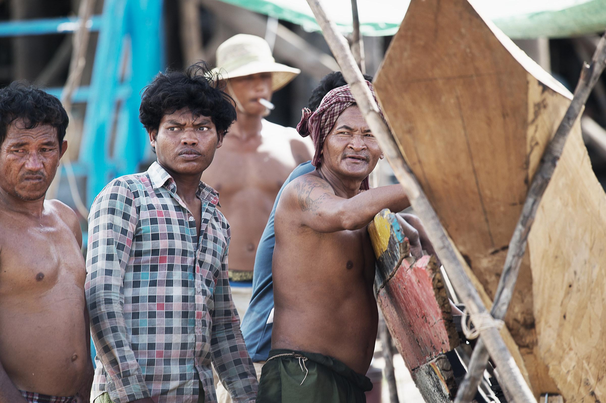 Maestri d'ascia del Lago Tonle sap...