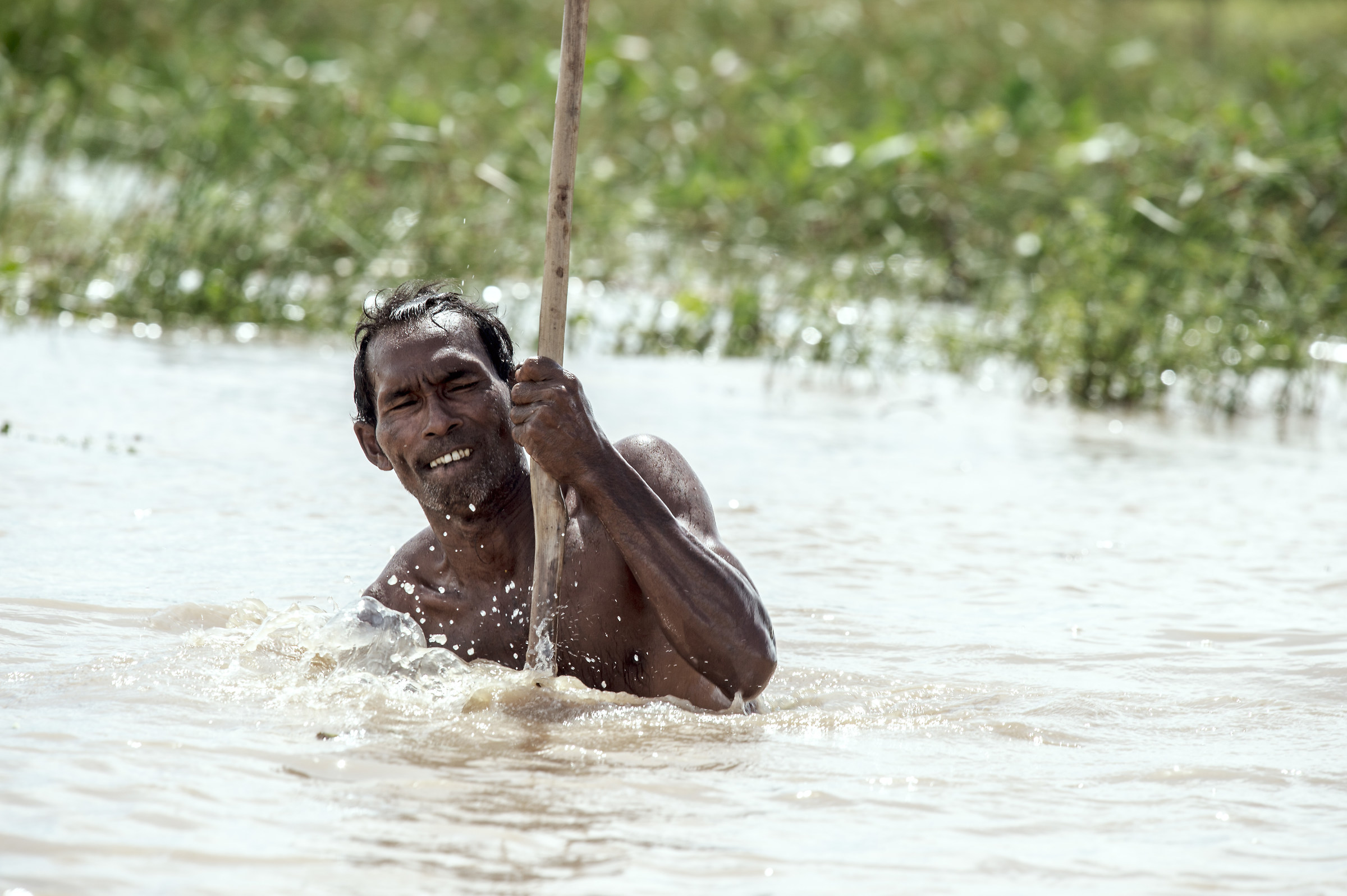 Pescatore del Lago Tonle Sap...