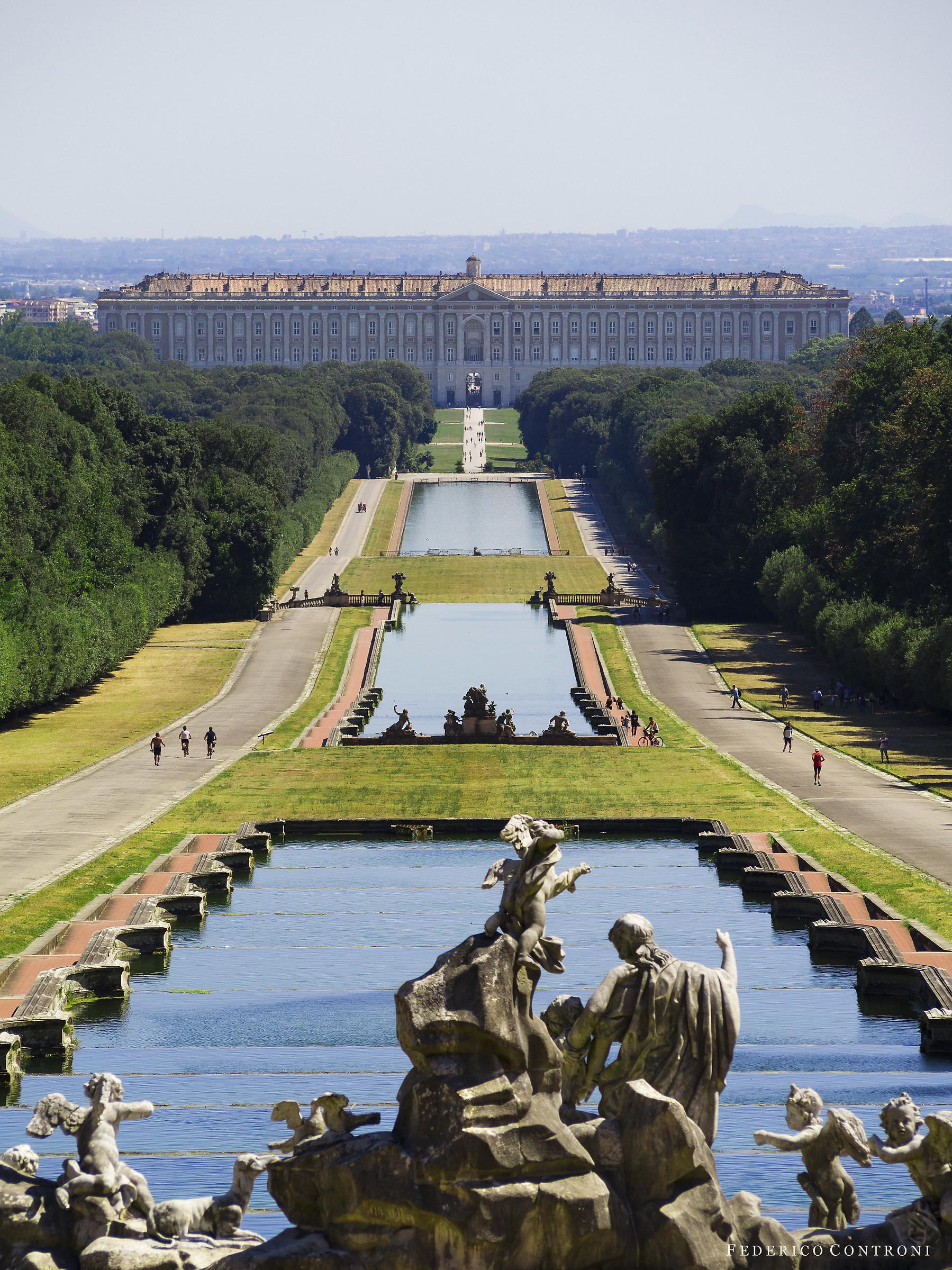 A monumental park...