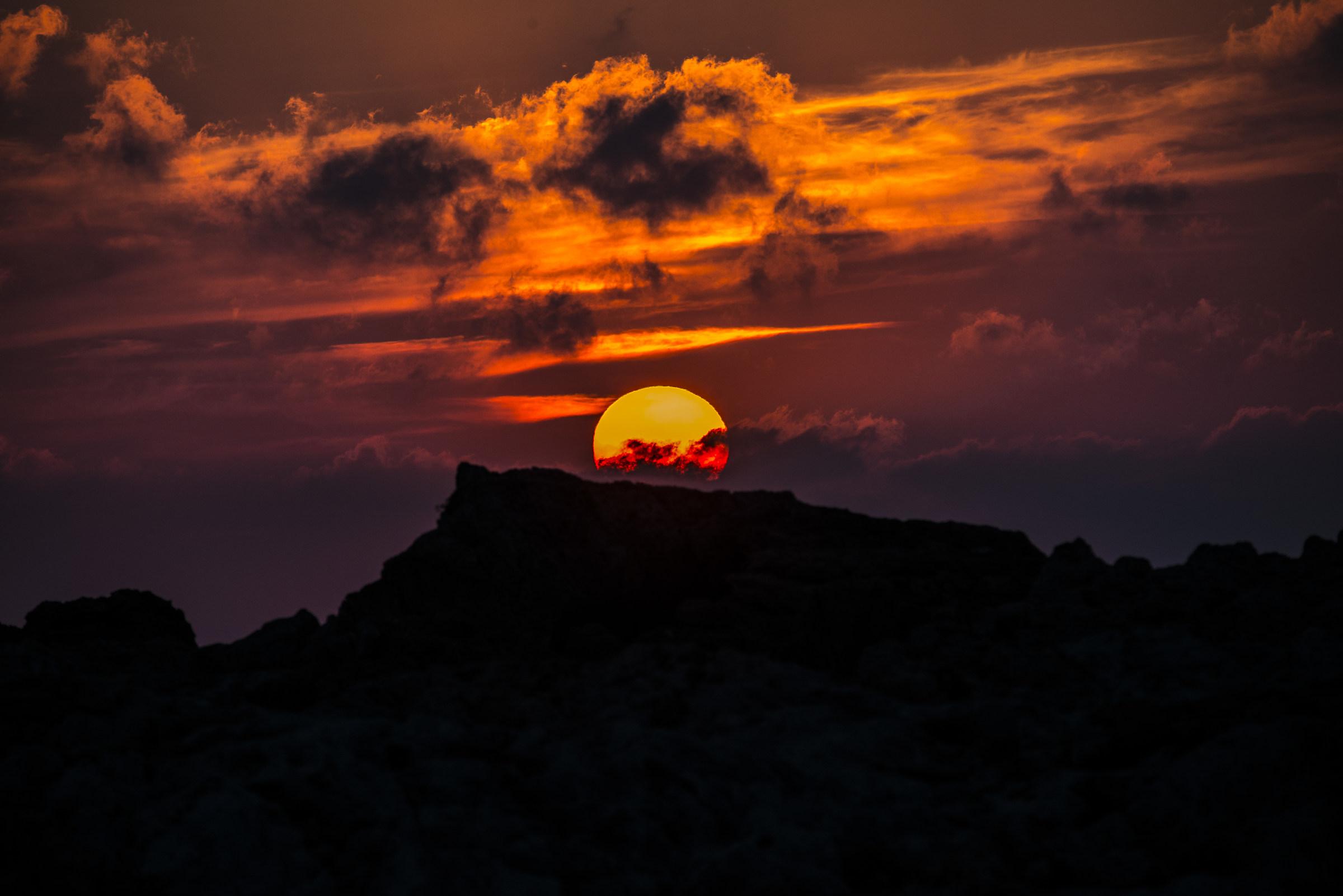 Sunset at Catiglioncello...