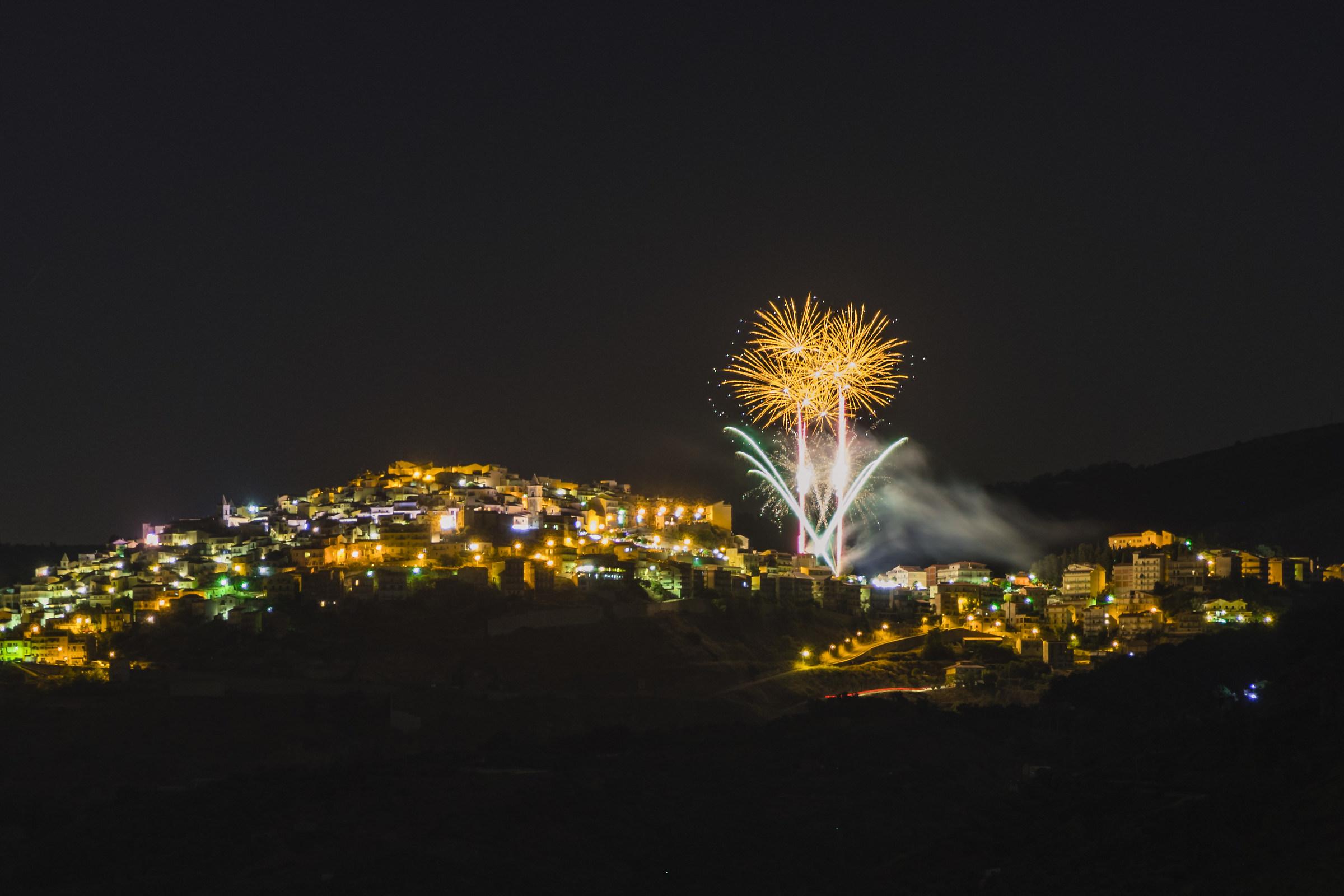 Fuochi d'artificio...
