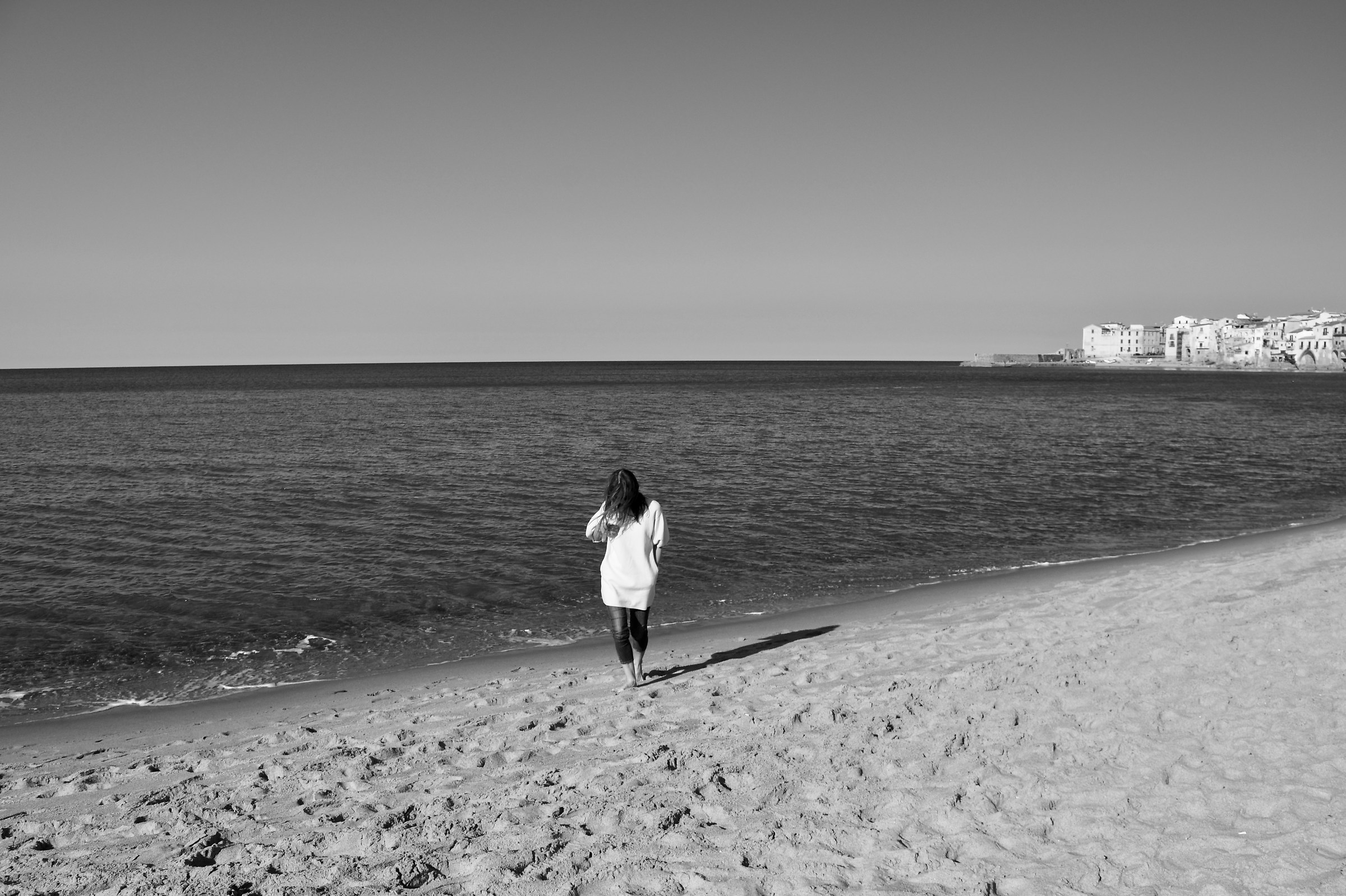 Spiaggia in b&w...