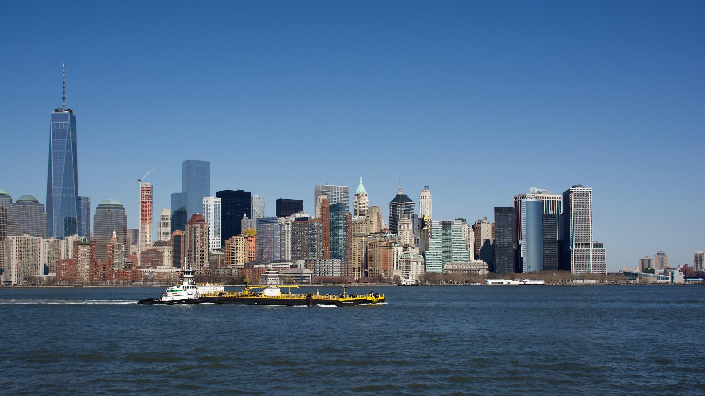 Skyline of NY...