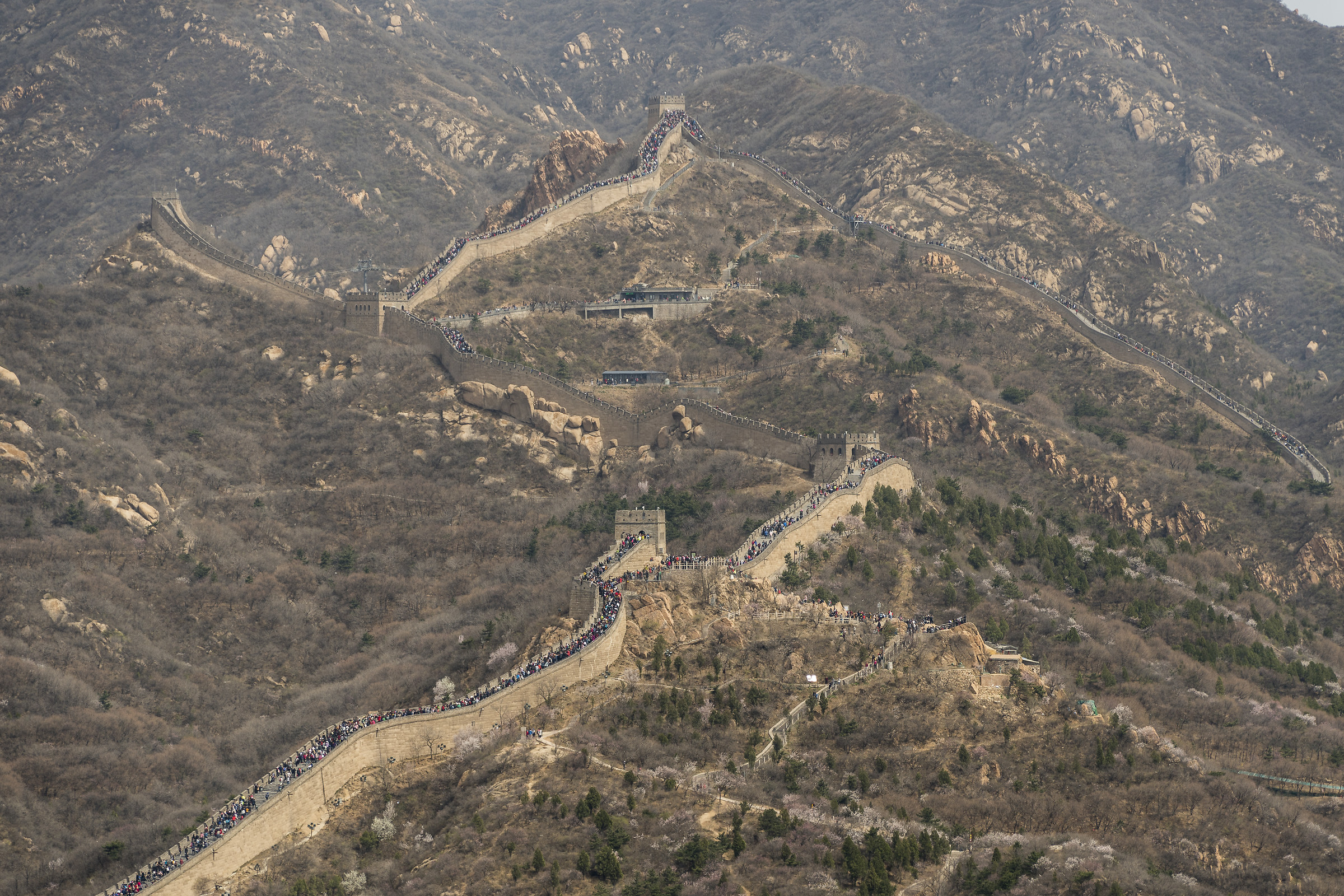 The Great Wall...